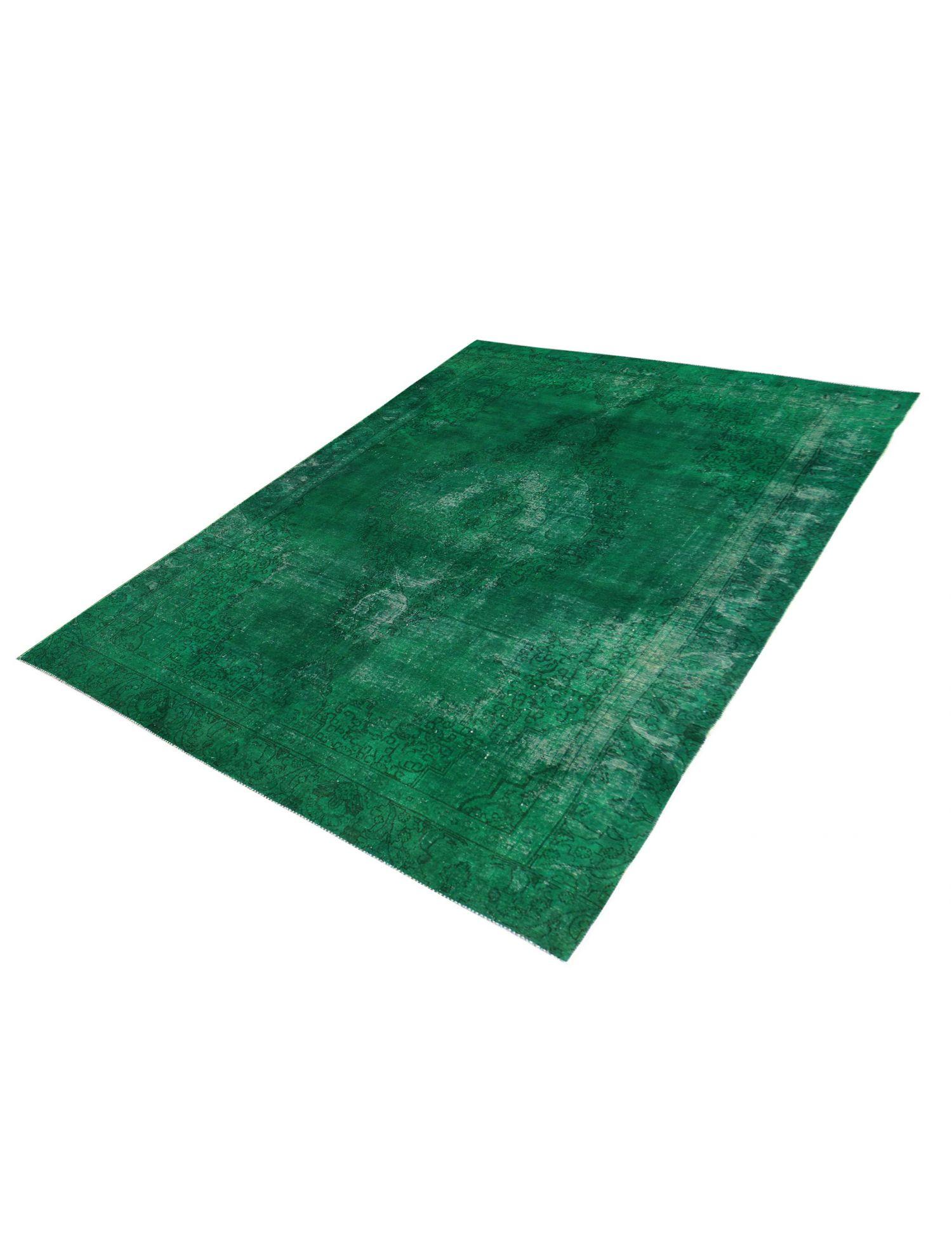 Vintage Perserteppich  grün <br/>376 x 260 cm
