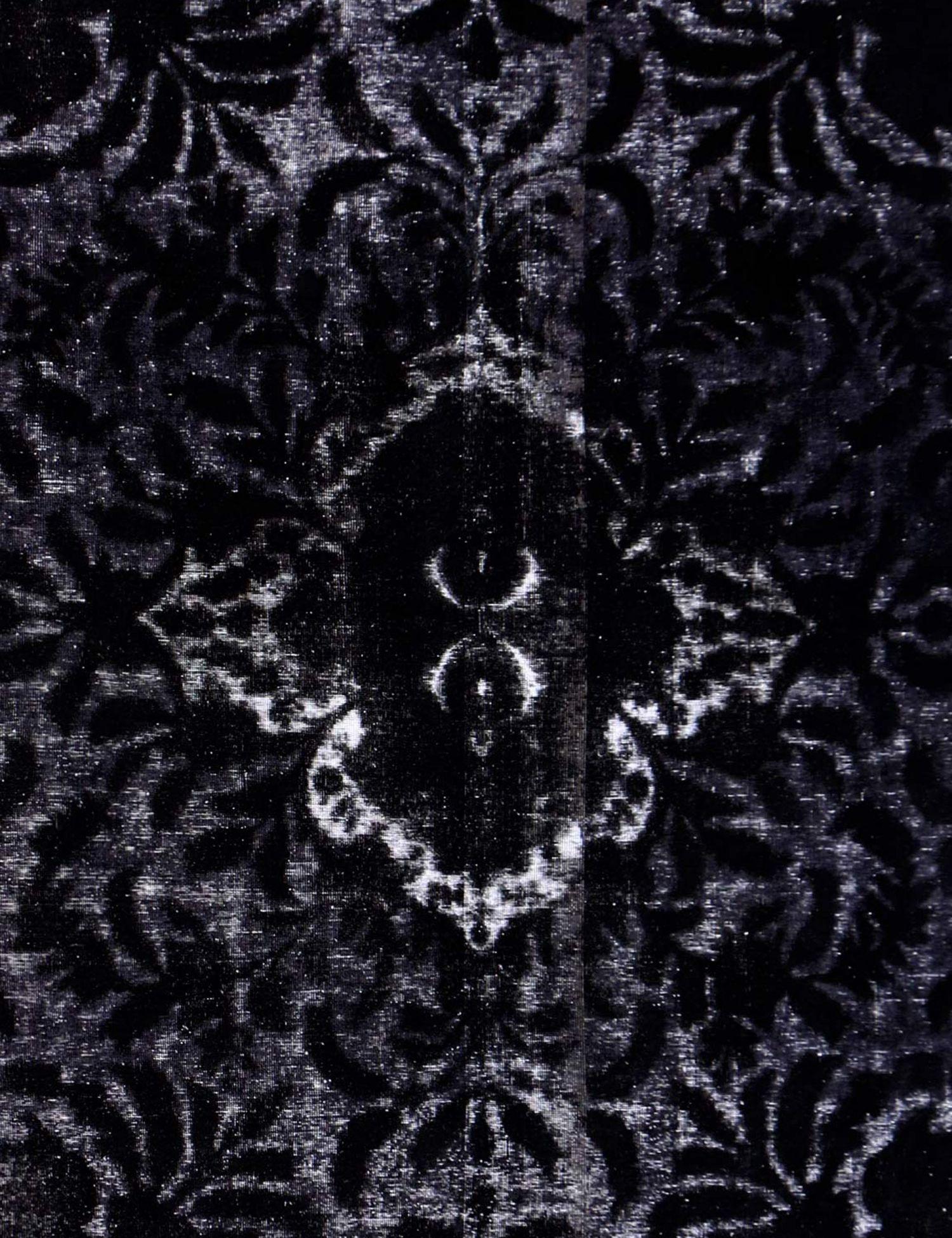 Vintage Perserteppich  schwarz <br/>376 x 300 cm