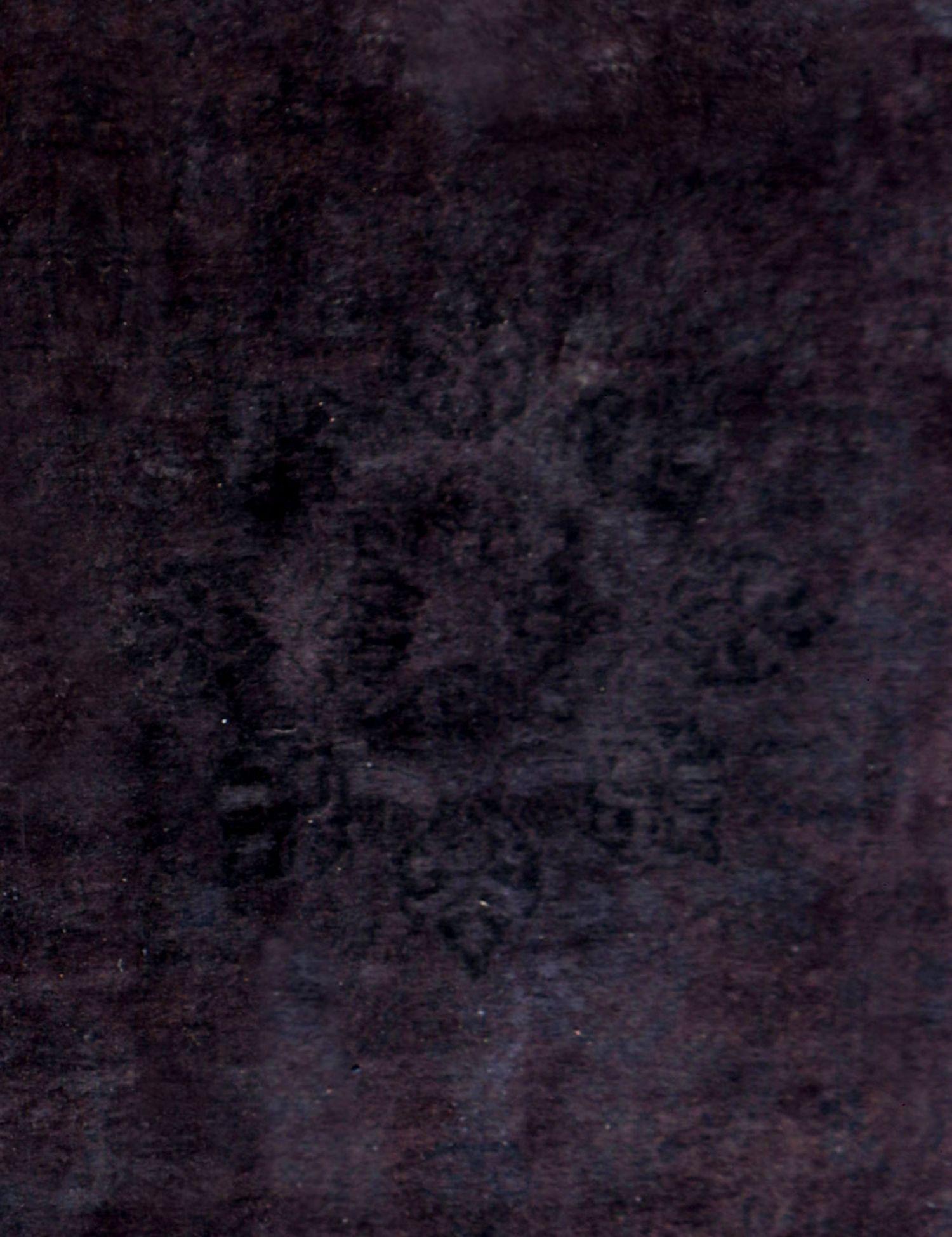 Tappeto Vintage  nero <br/>350 x 288 cm