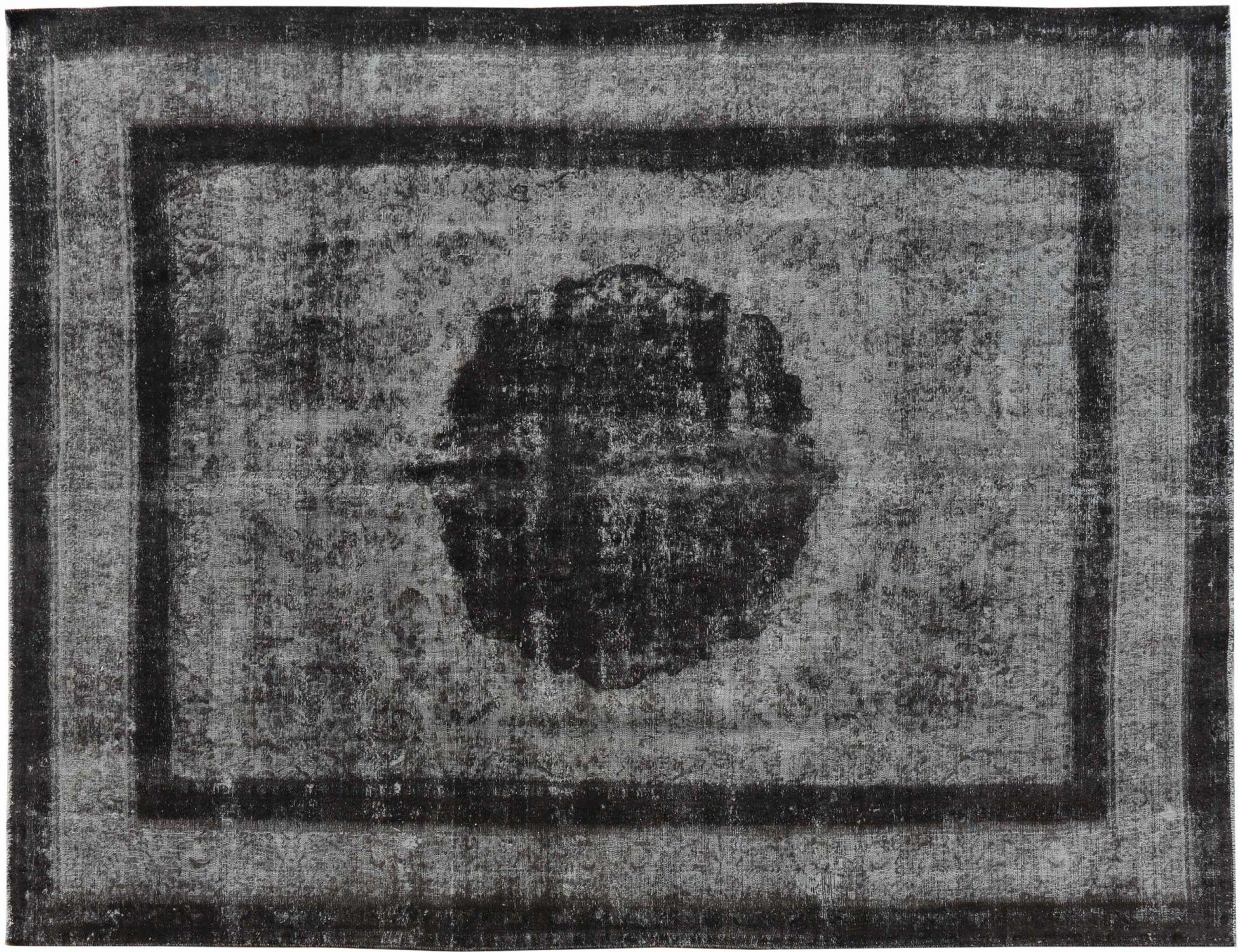 Vintage Perserteppich  schwarz <br/>377 x 288 cm