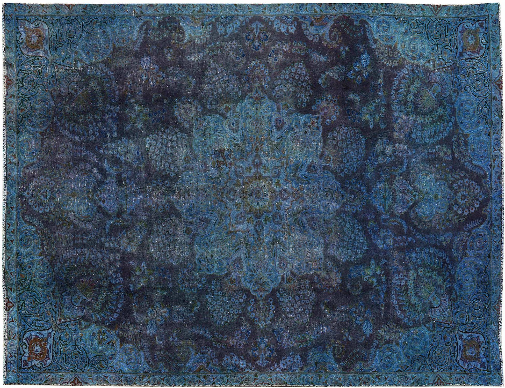 Tappeto Vintage  blu <br/>318 x 210 cm