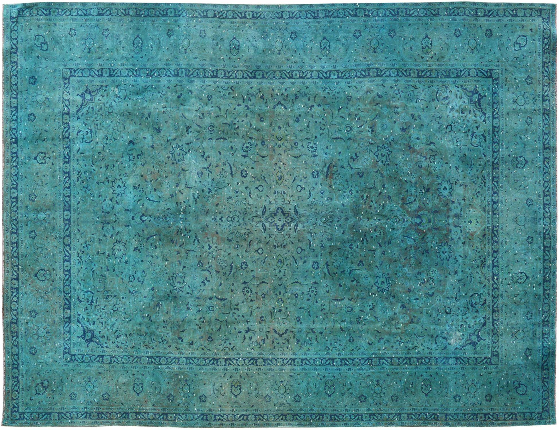 Tappeto Vintage  blu <br/>387 x 290 cm