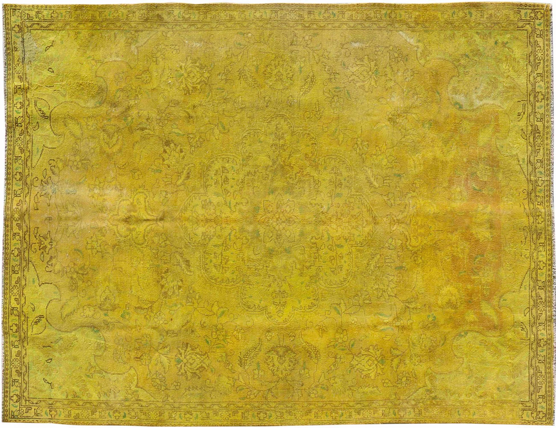 Tappeto Vintage  giallo <br/>260 x 178 cm