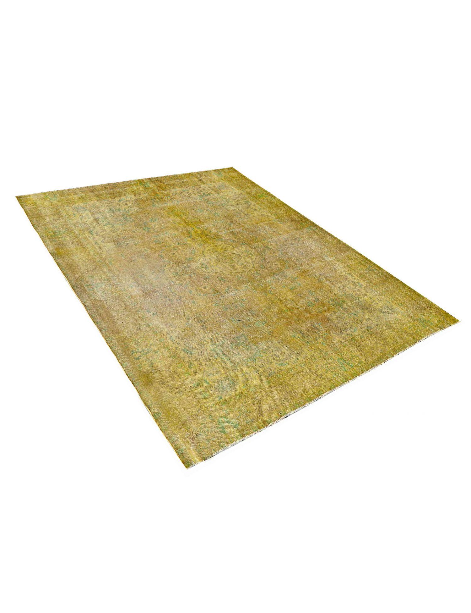 Vintage Teppich  gelb <br/>372 x 282 cm