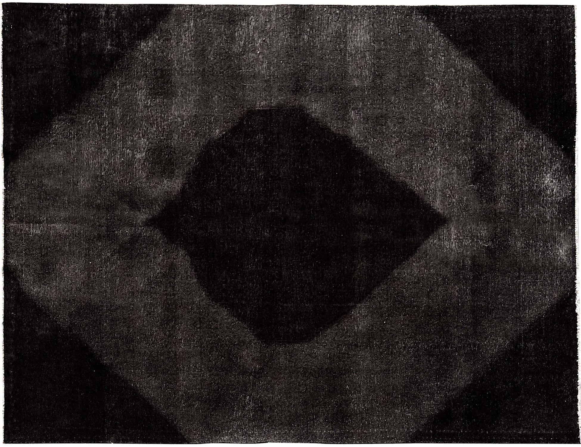 Tappeto Vintage  nero <br/>295 x 194 cm