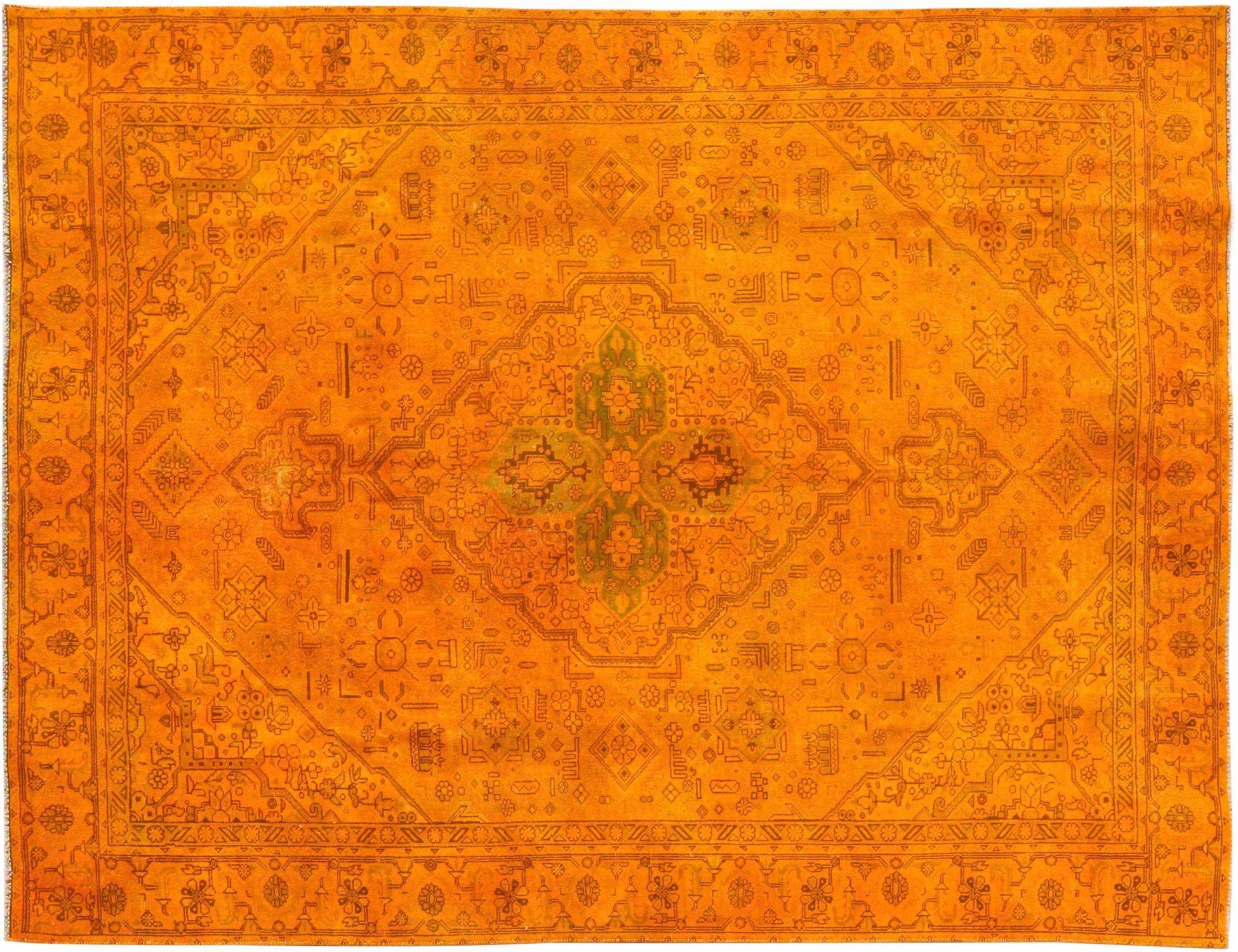Vintage Teppich  orange <br/>300 x 217 cm