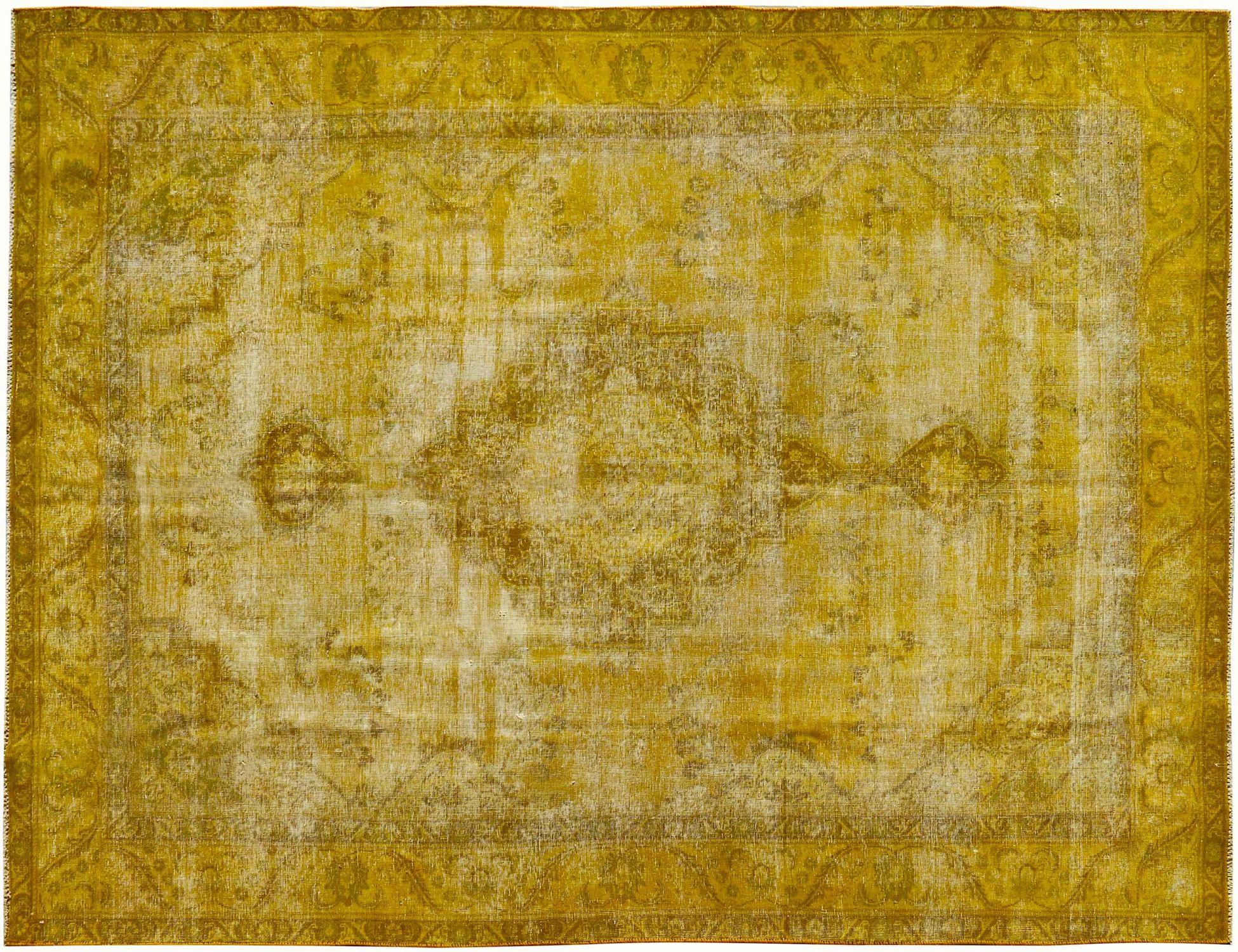 Vintage Teppich  gelb <br/>374 x 280 cm
