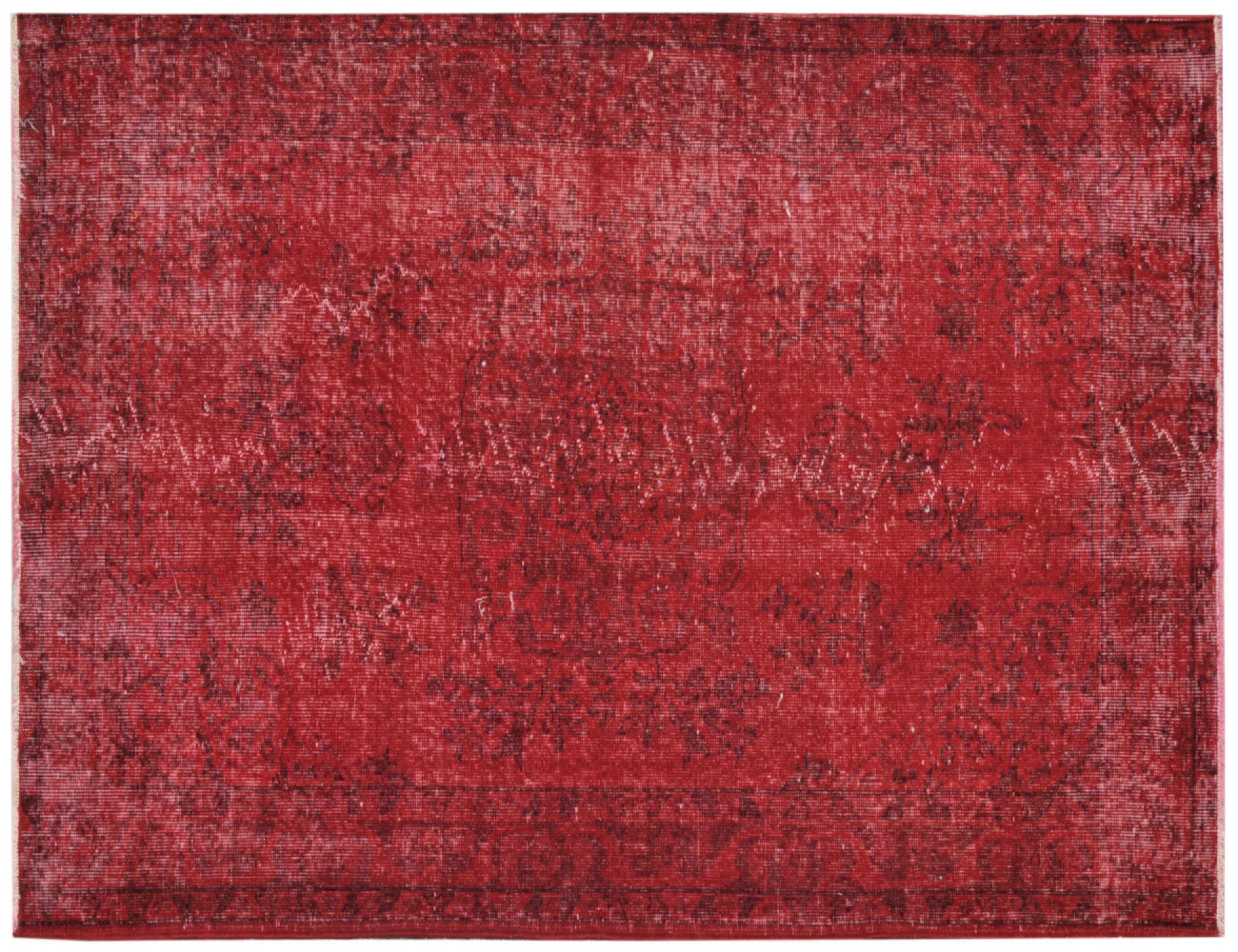 Vintage Teppich  rot <br/>217 x 119 cm