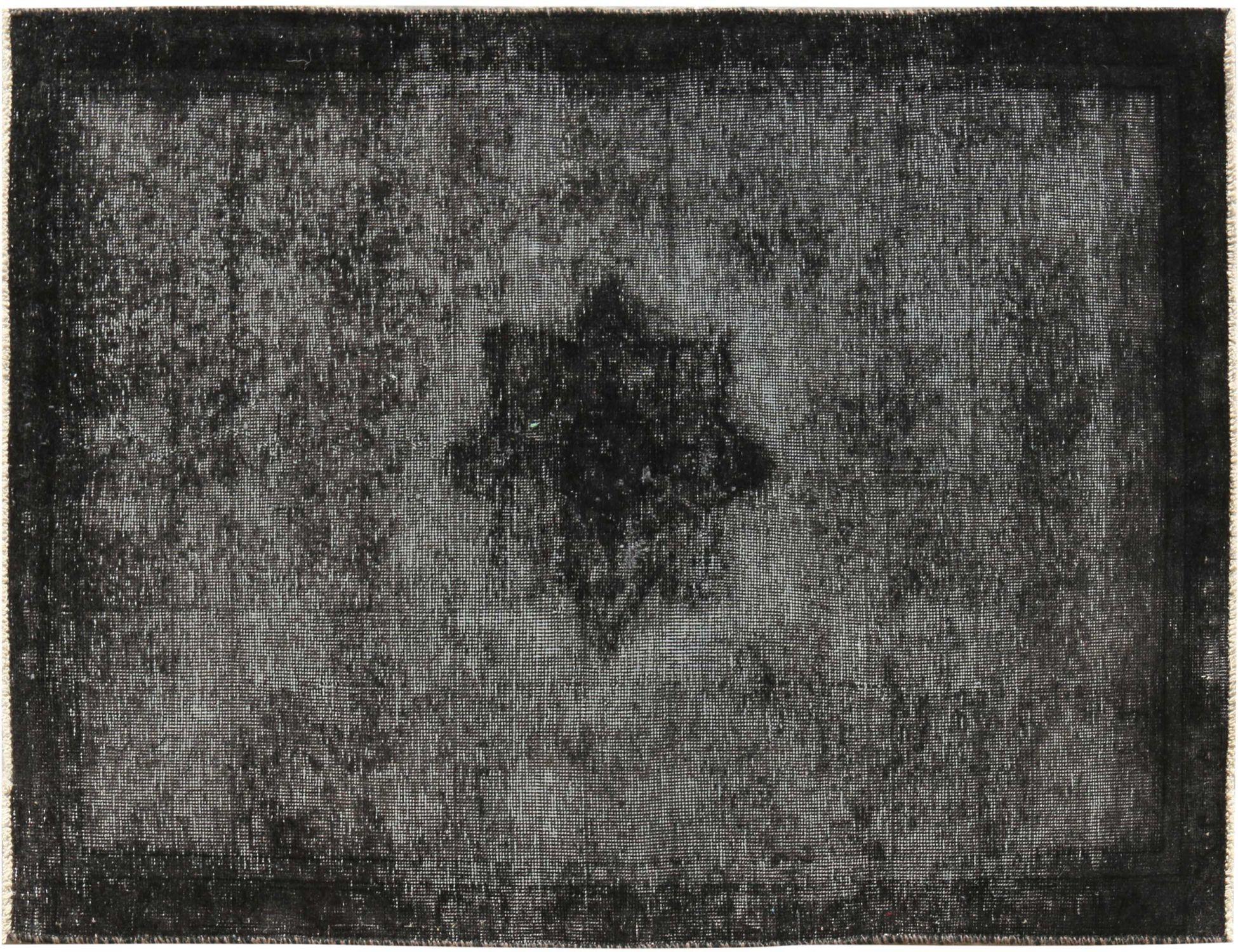 Vintage Perserteppich  schwarz <br/>145 x 94 cm