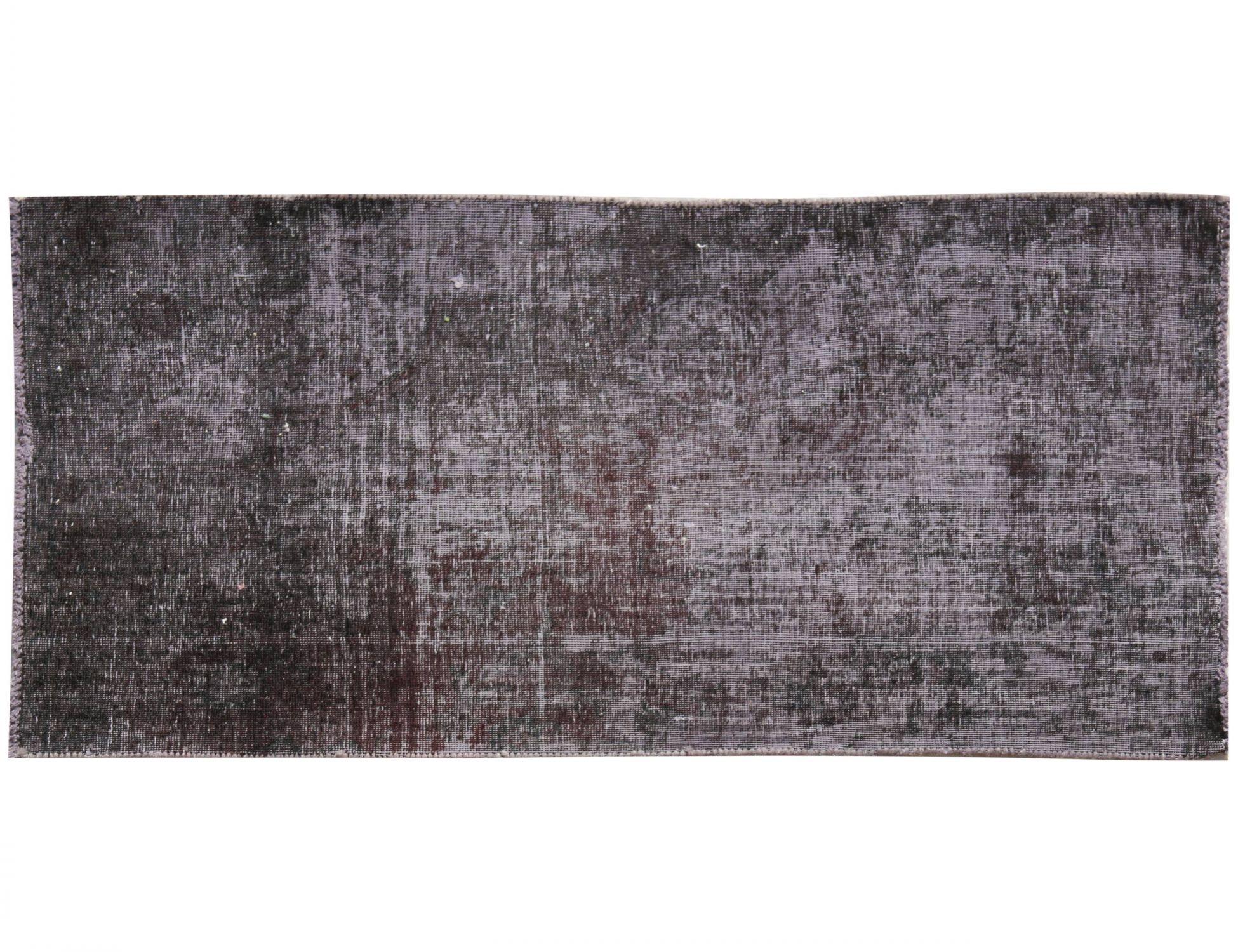 Tappeto Vintage  nero <br/>147 x 80 cm