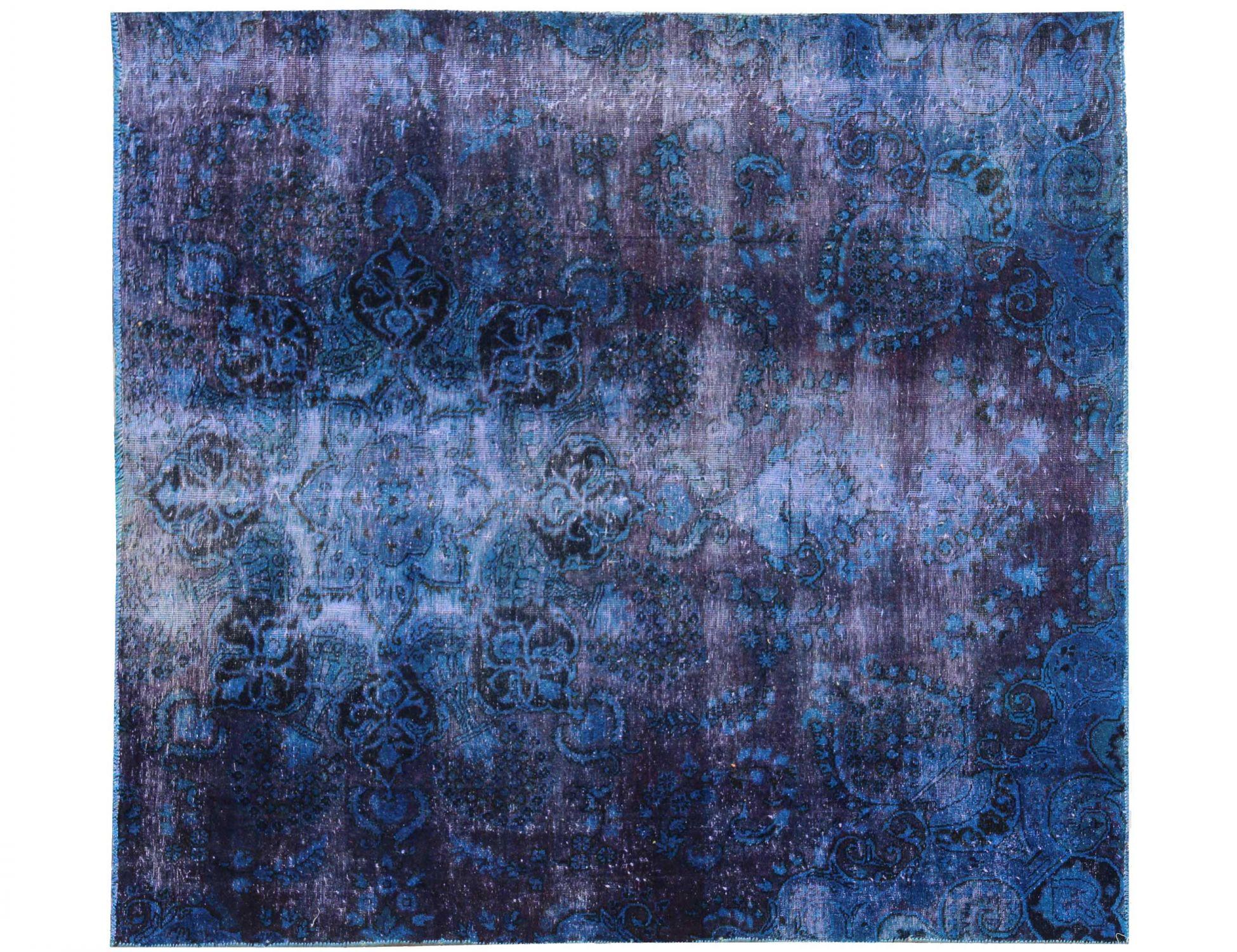 Tappeto Vintage  blu <br/>200 x 178 cm