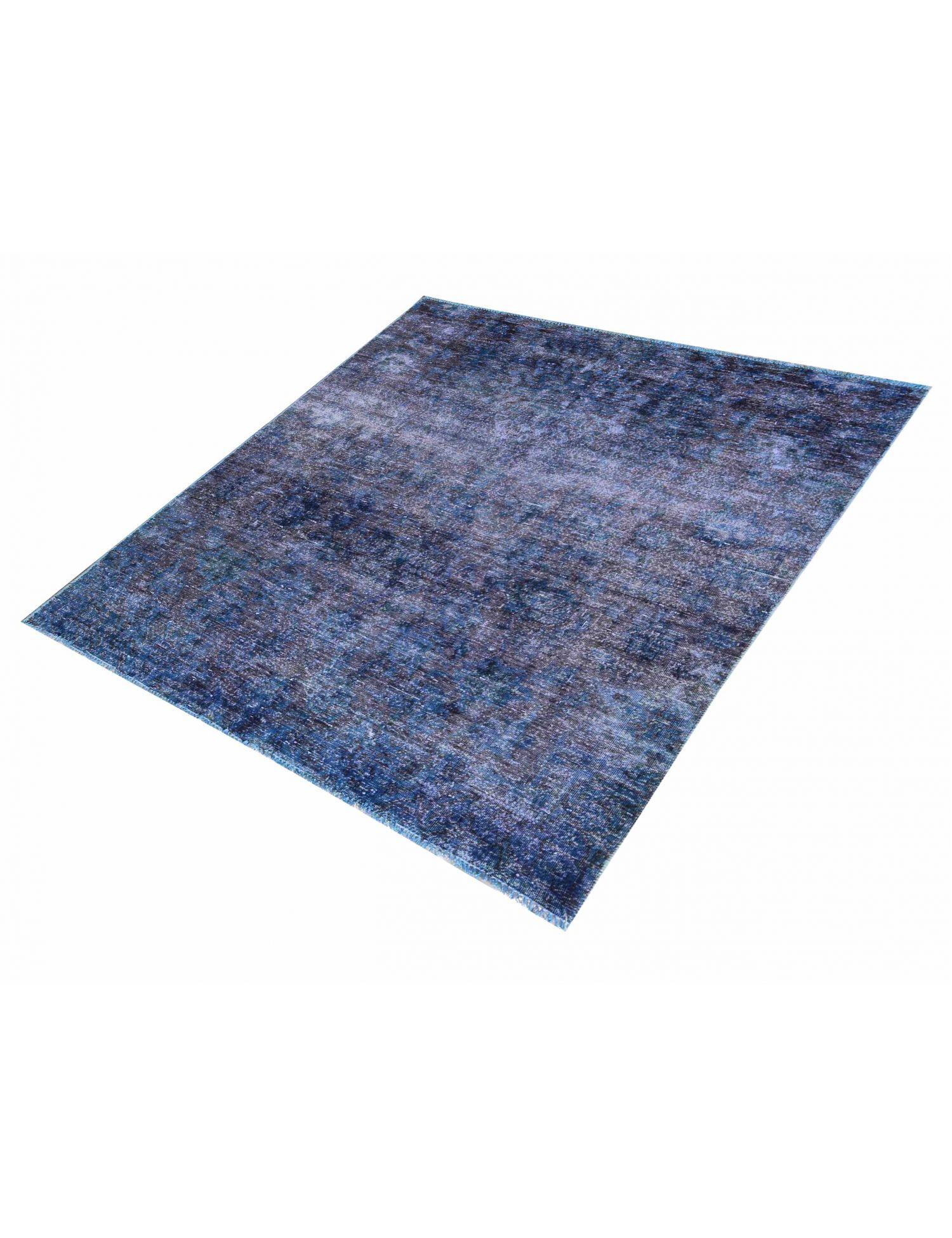 Tappeto Vintage  blu <br/>180 x 160 cm
