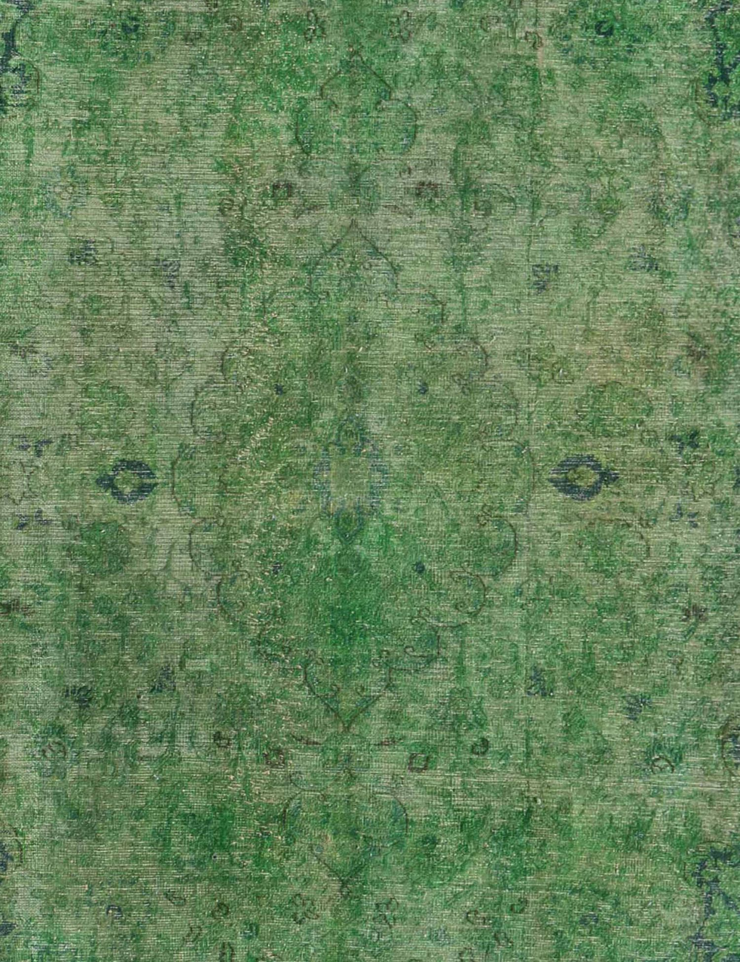 Vintage Perserteppich  grün <br/>380 x 290 cm
