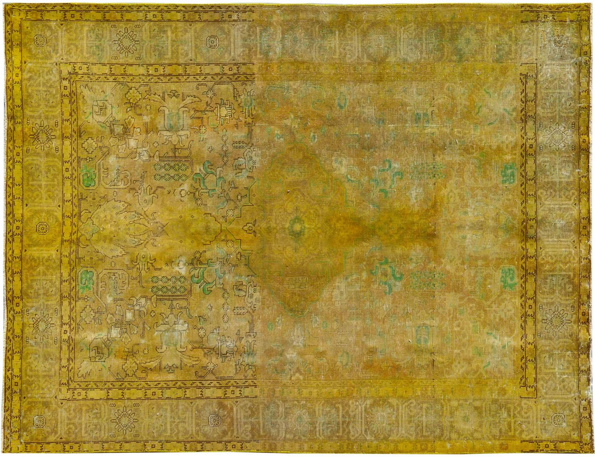 Vintage Perserteppich  gelb <br/>290 x 190 cm