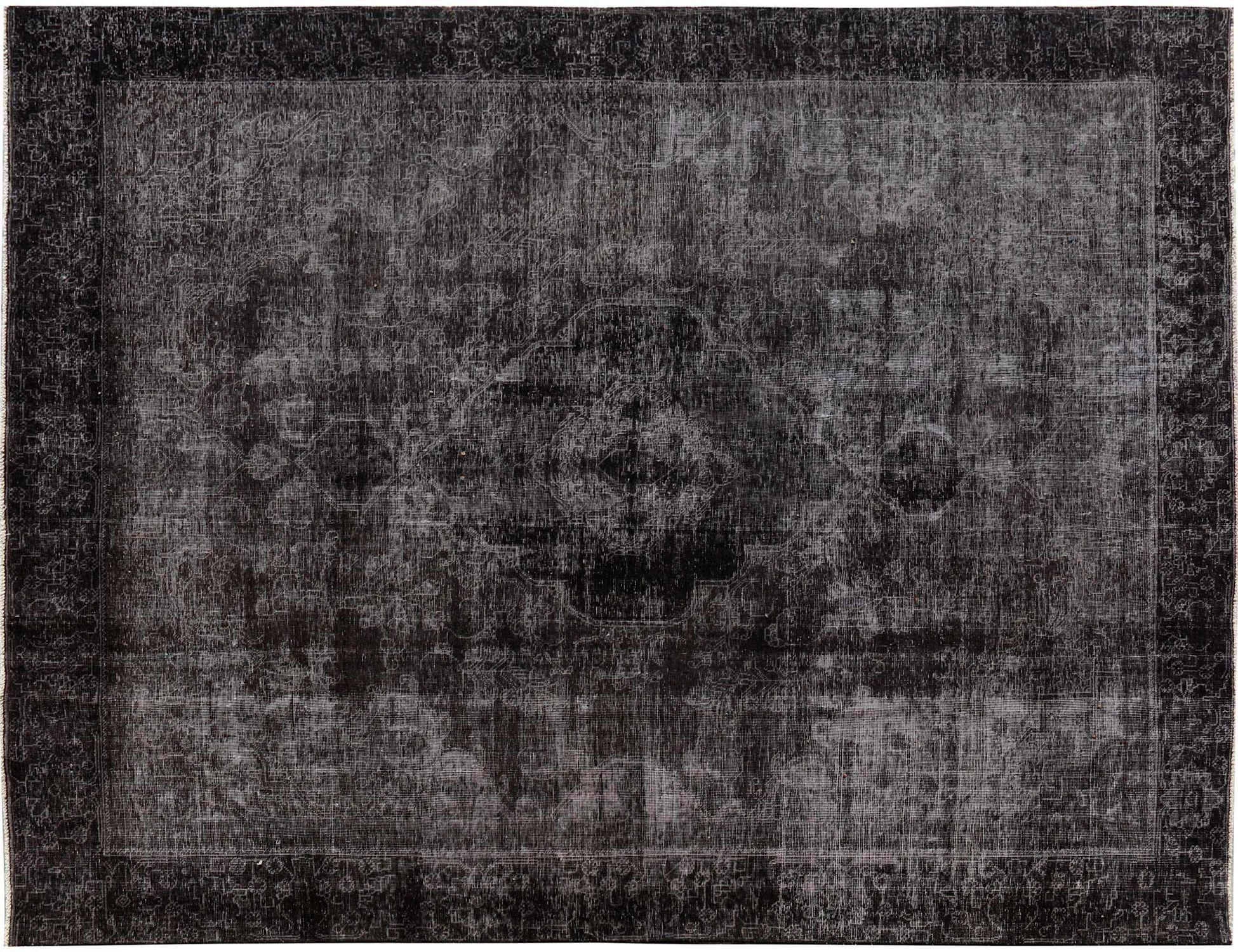 Vintage Perserteppich  schwarz <br/>357 x 275 cm