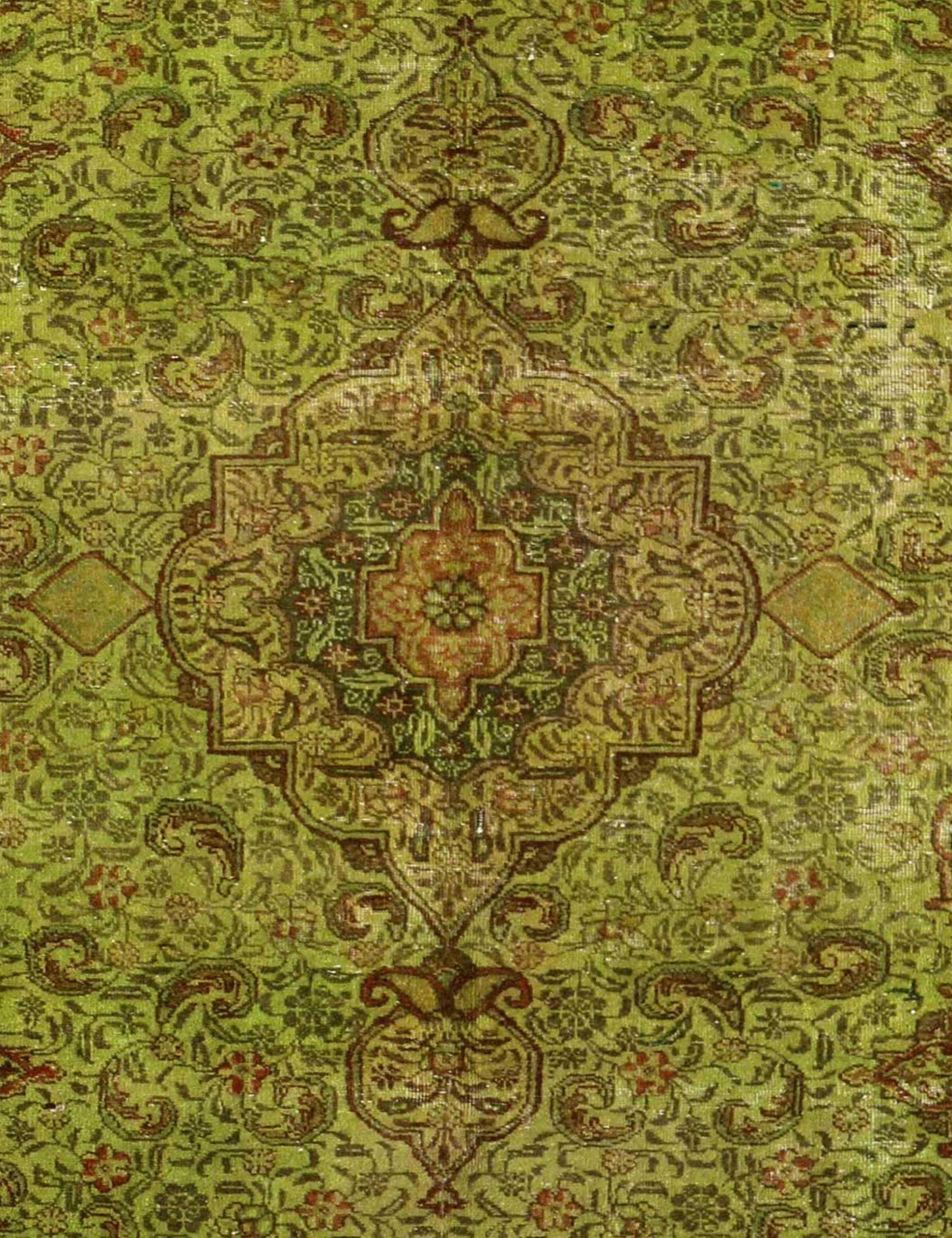 Vintage Perserteppich  grün <br/>267 x 162 cm