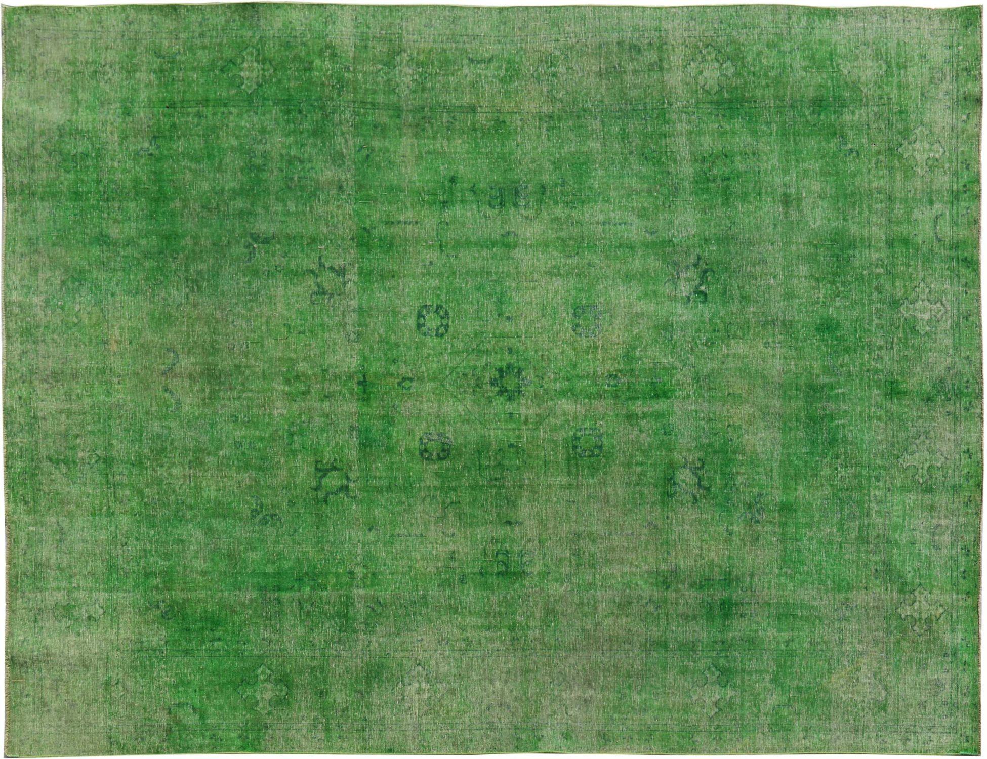 Vintage Perserteppich  grün <br/>370 x 300 cm