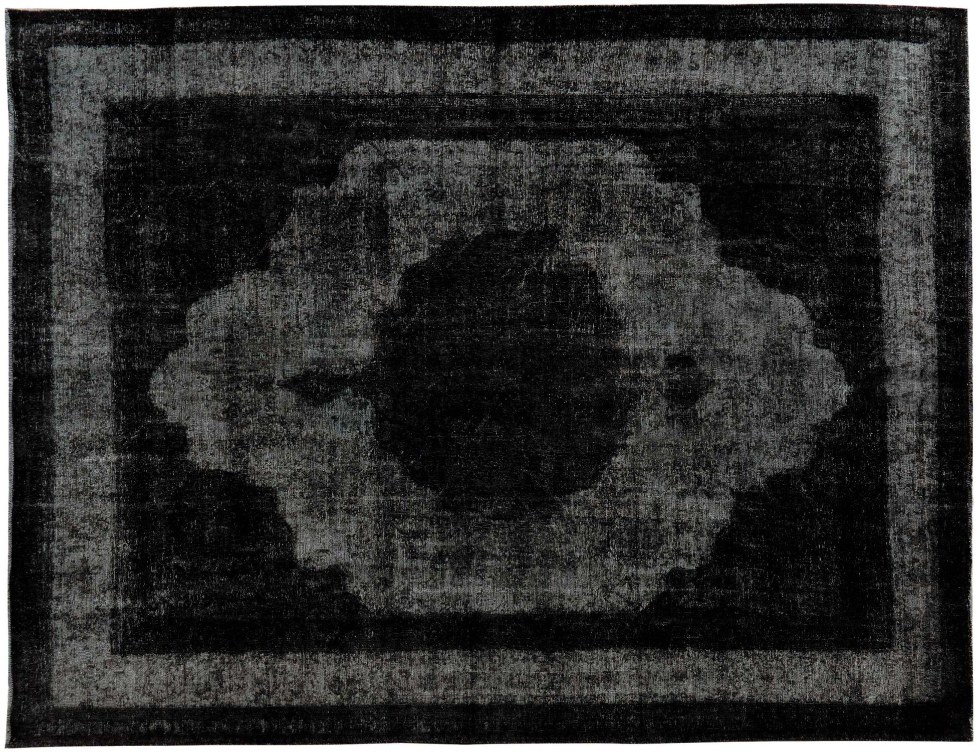 Vintage Perserteppich  schwarz <br/>393 x 293 cm