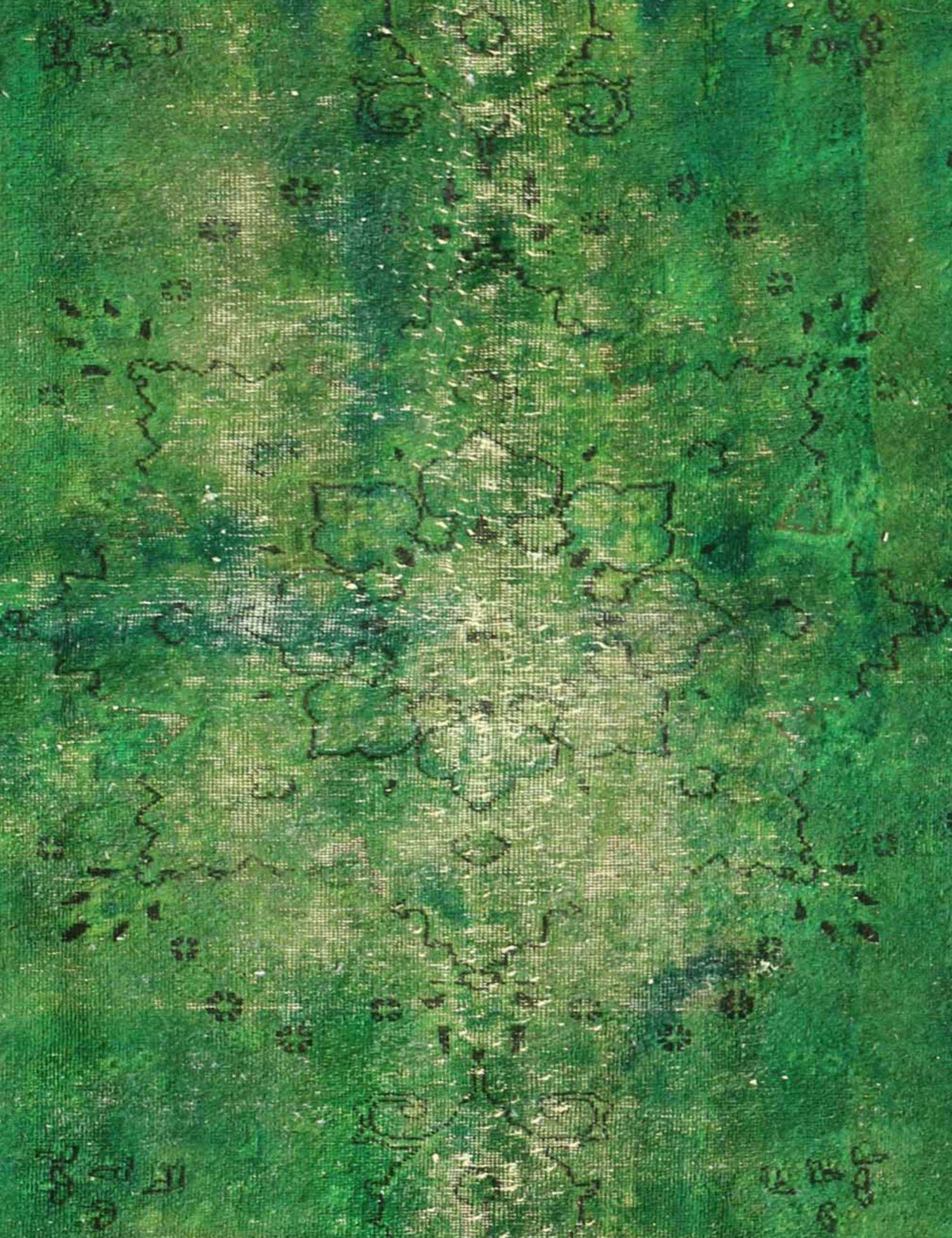 Vintage Perserteppich  grün <br/>240 x 146 cm
