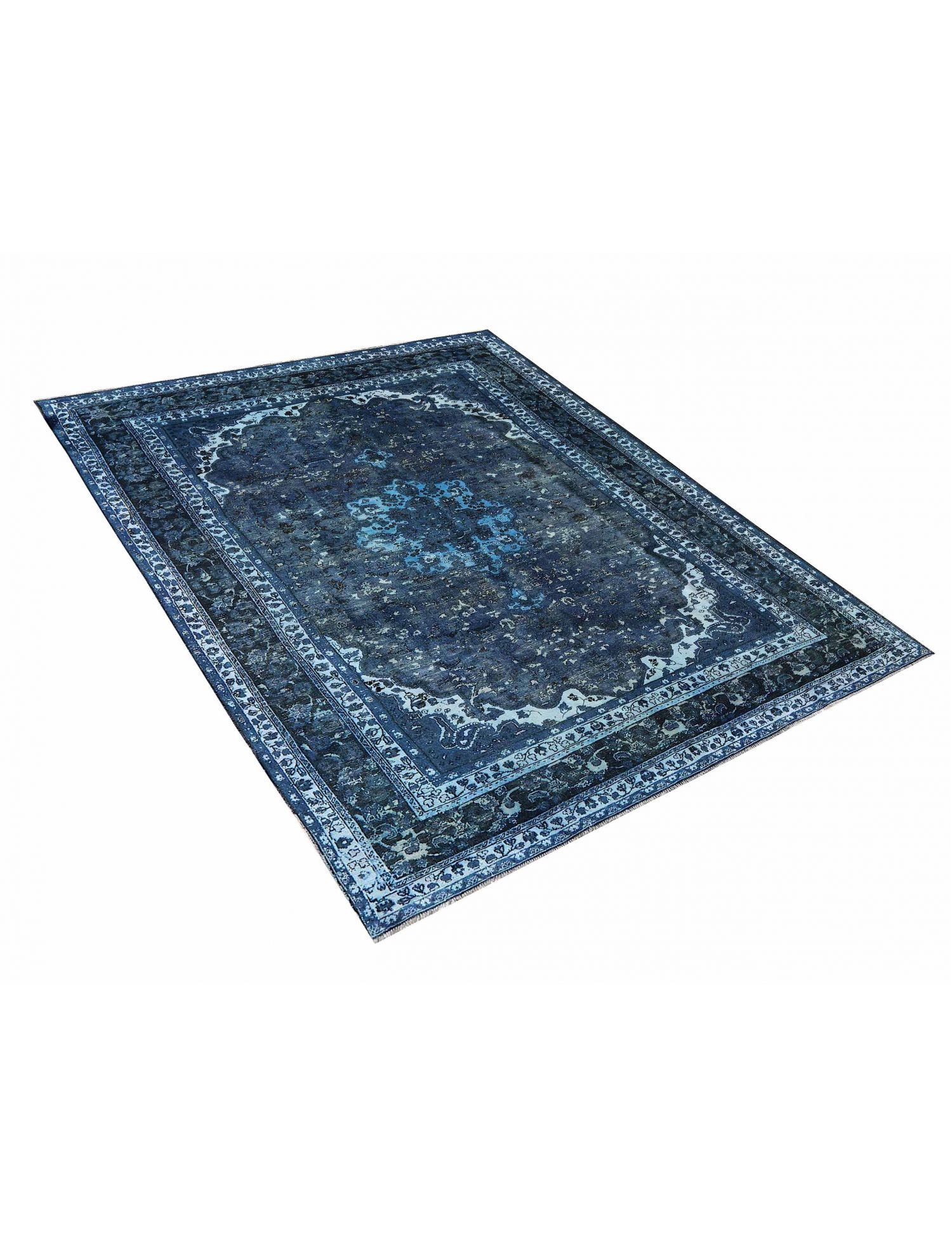 Tappeto Vintage  blu <br/>324 x 245 cm