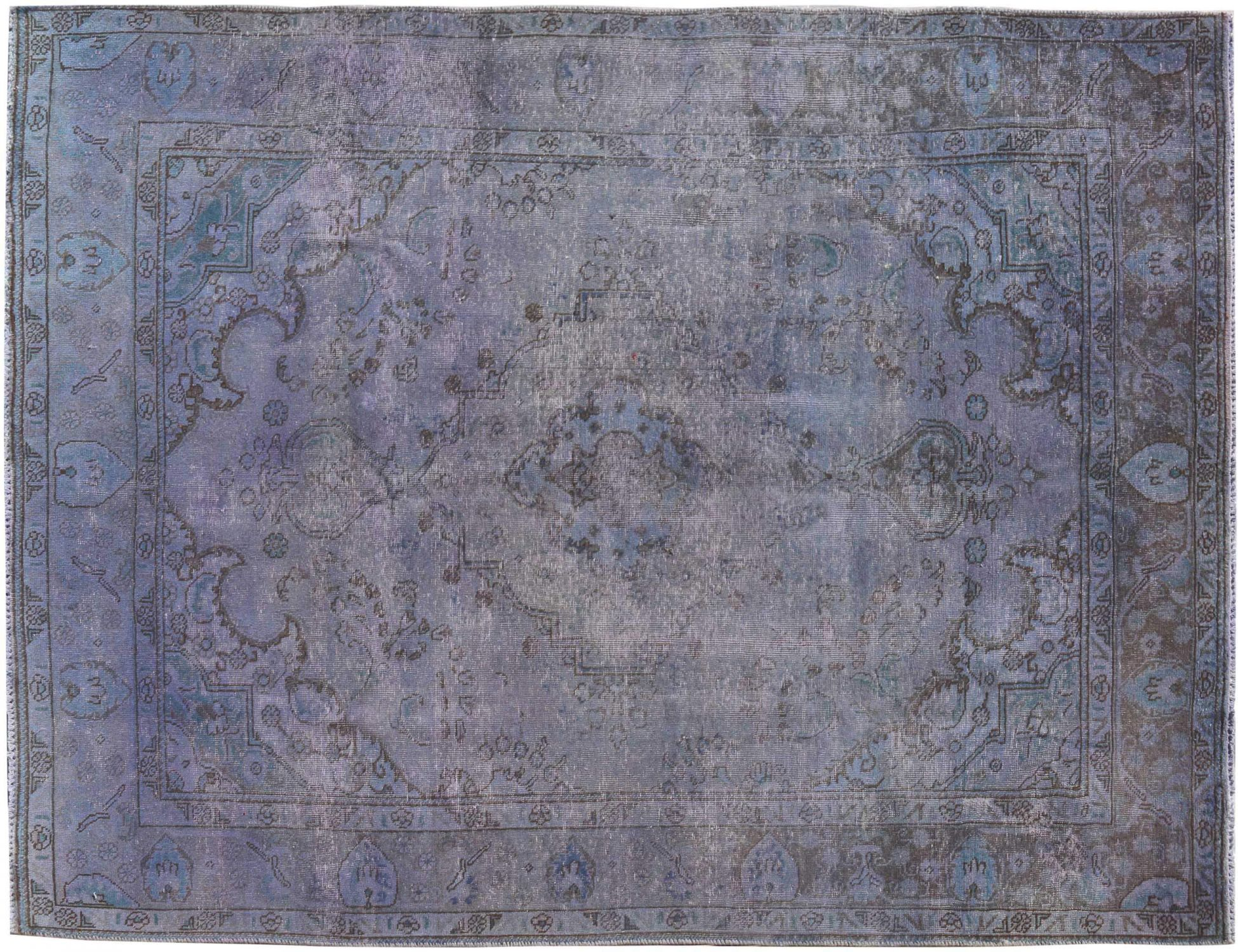 Tappeto Vintage  blu <br/>290 x 190 cm