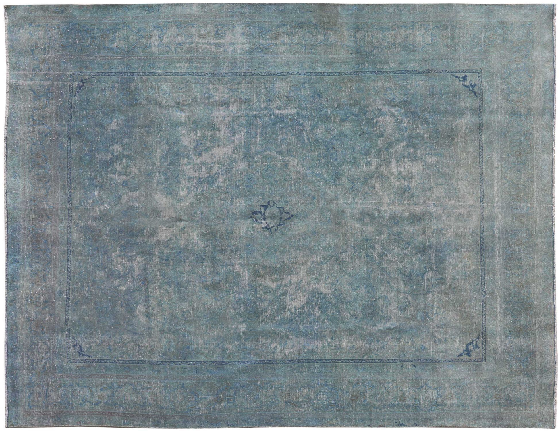 Tappeto Vintage  blu <br/>365 x 280 cm