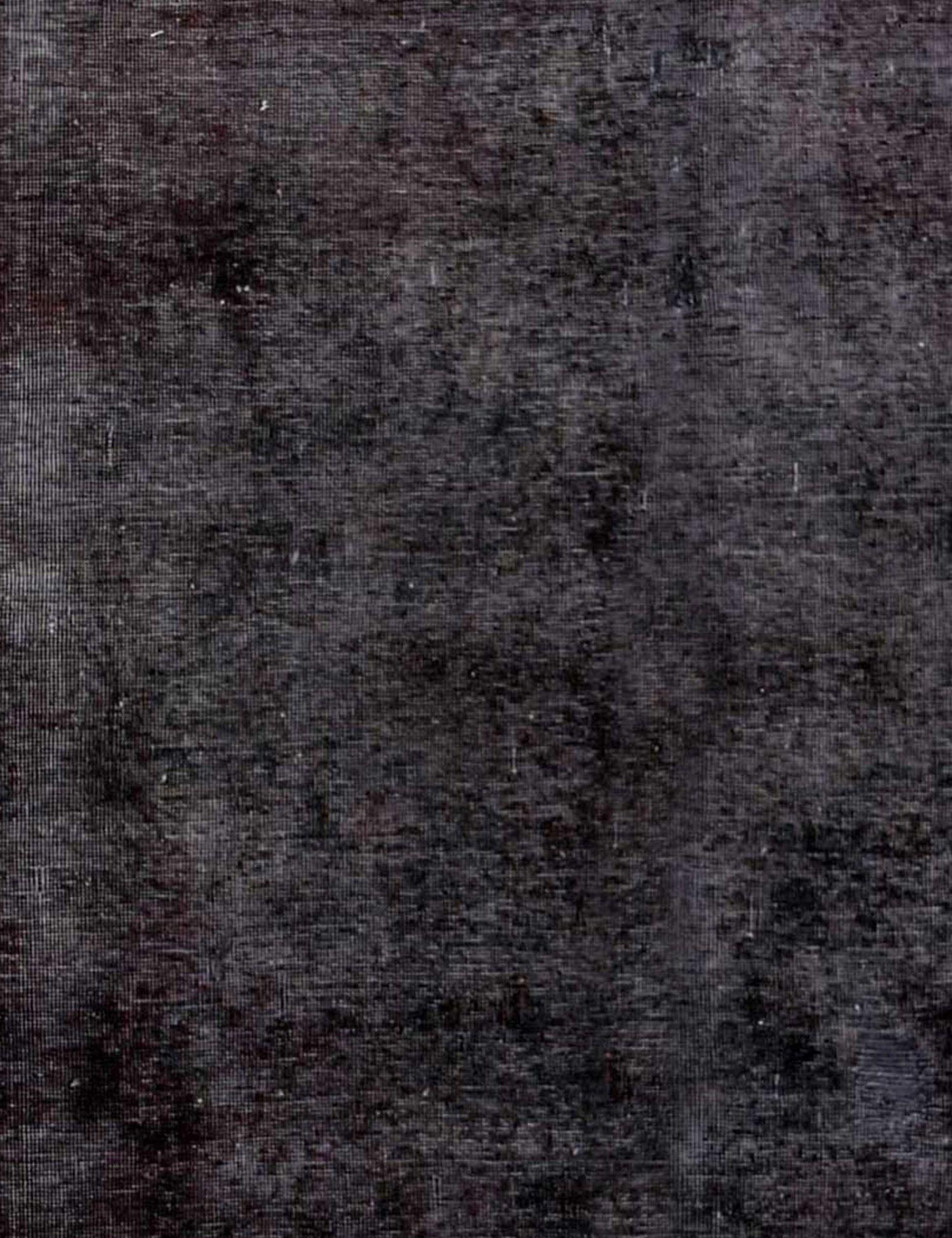 Vintage Perserteppich  schwarz <br/>210 x 215 cm