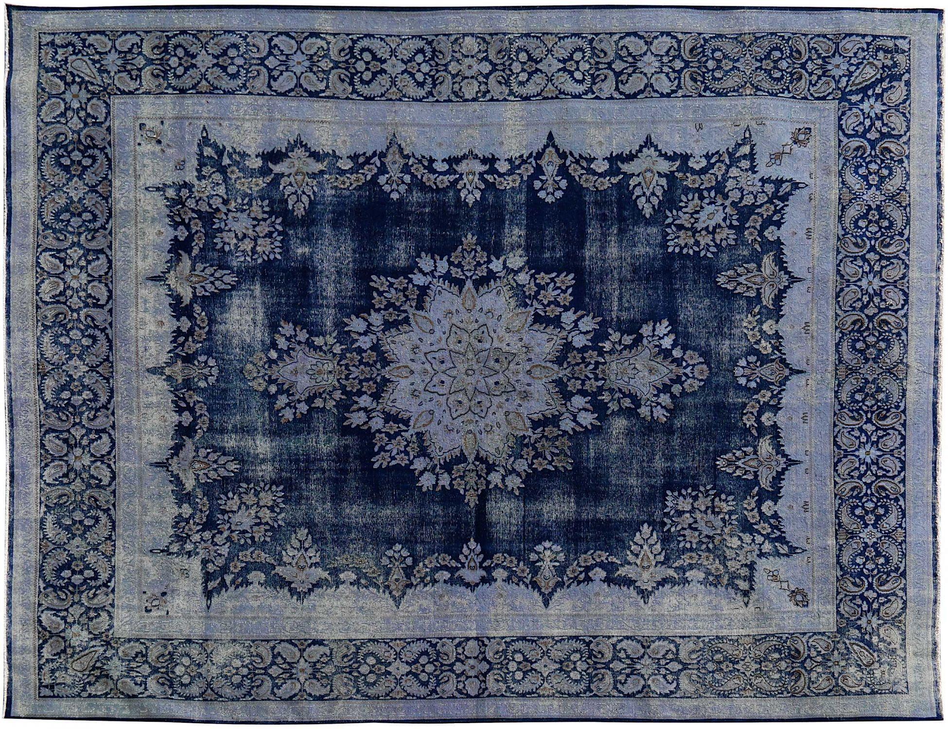 Vintage Perserteppich  blau <br/>394 x 297 cm