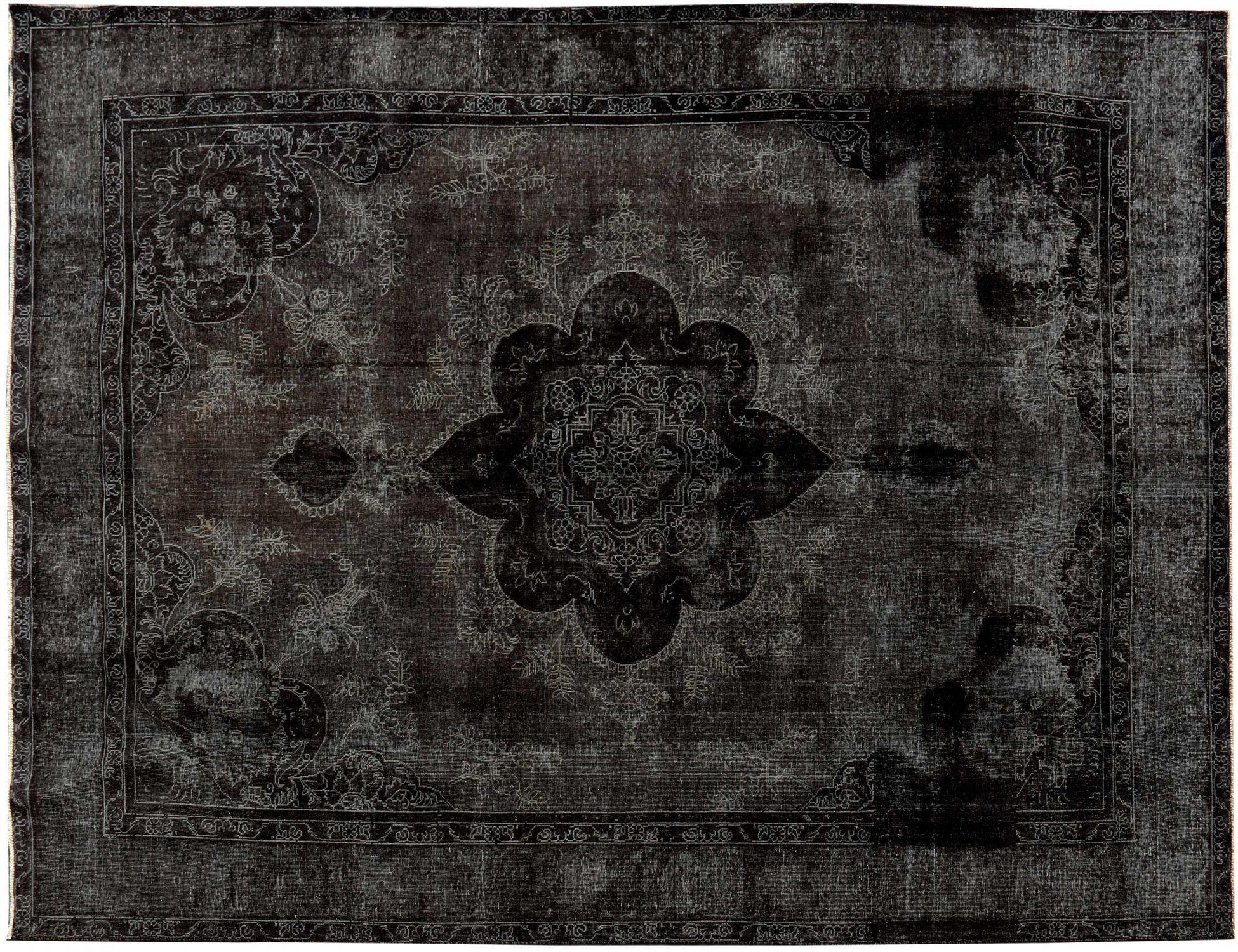 Vintage Perserteppich  schwarz <br/>399 x 292 cm
