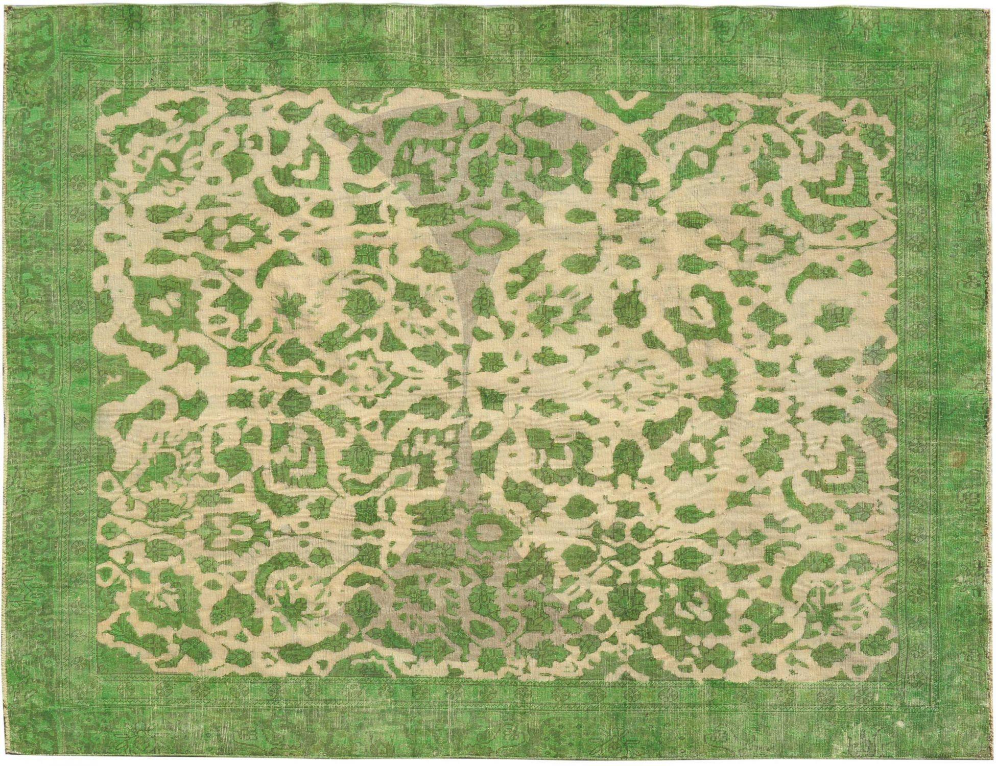 Tappeto Vintage  verde <br/>322 x 250 cm