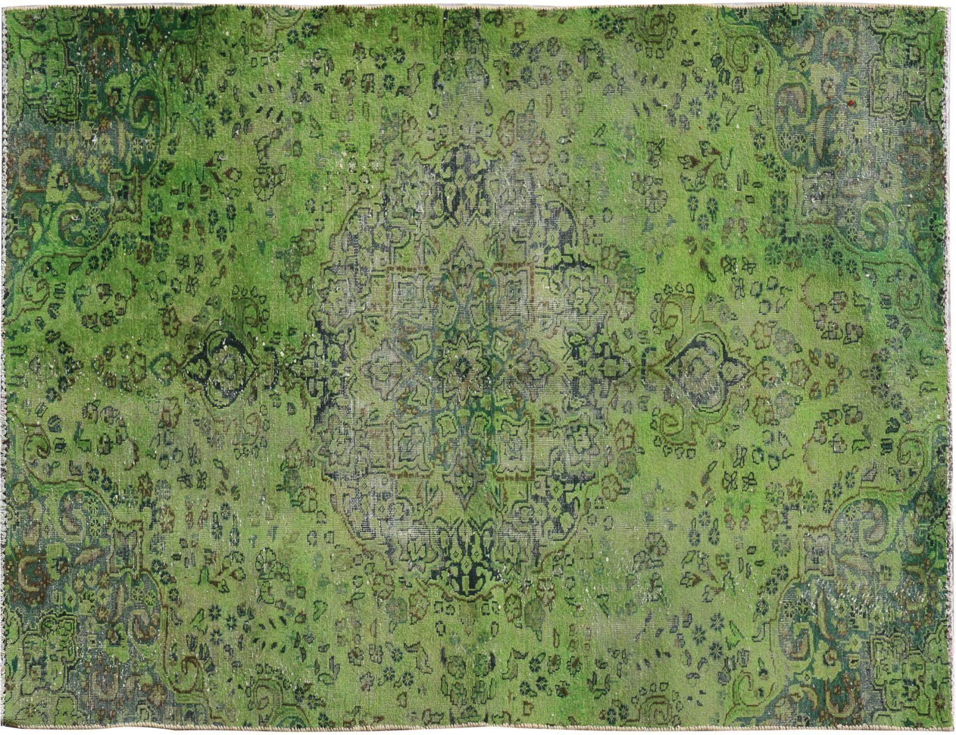 Vintage Perserteppich  grün <br/>238 x 138 cm