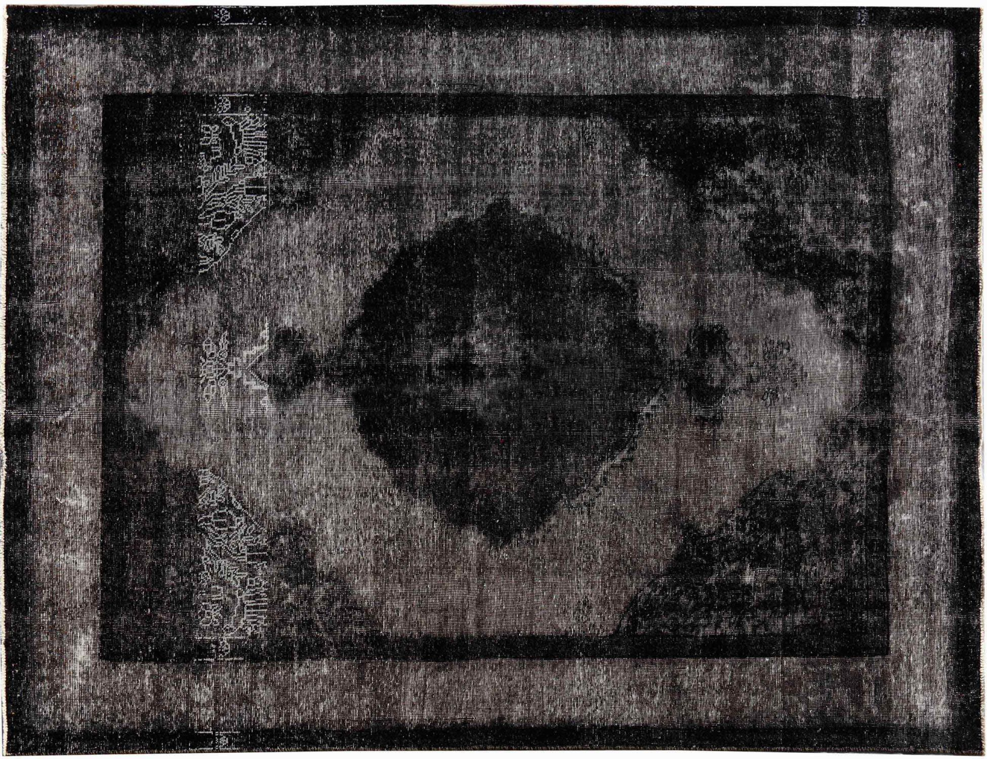 Vintage Perserteppich  schwarz <br/>310 x 200 cm