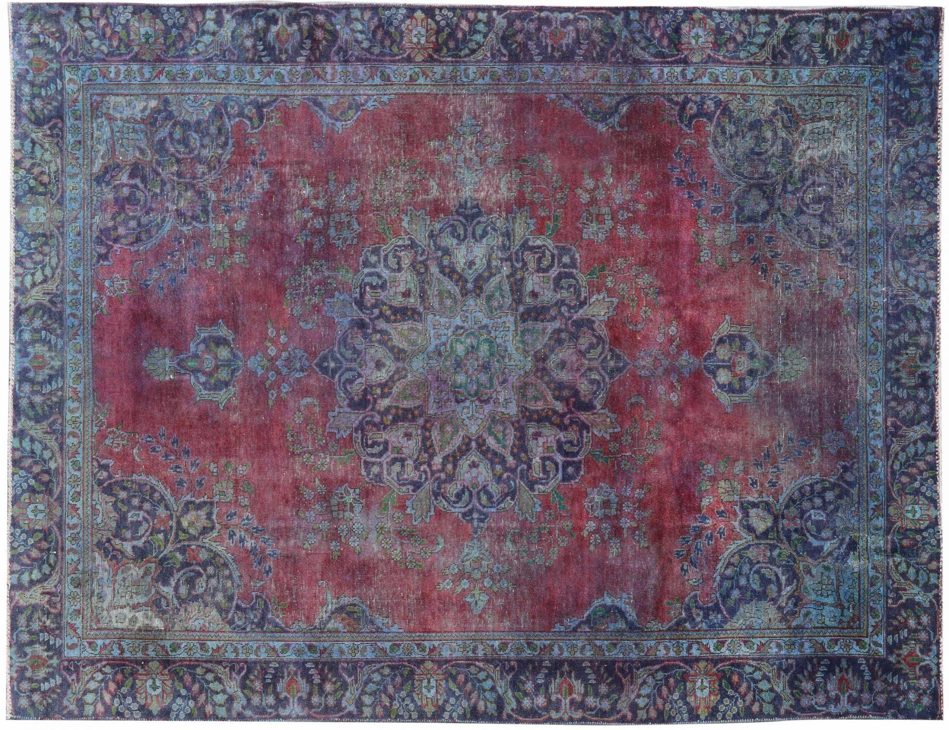 Tappeto Vintage  blu <br/>312 x 221 cm
