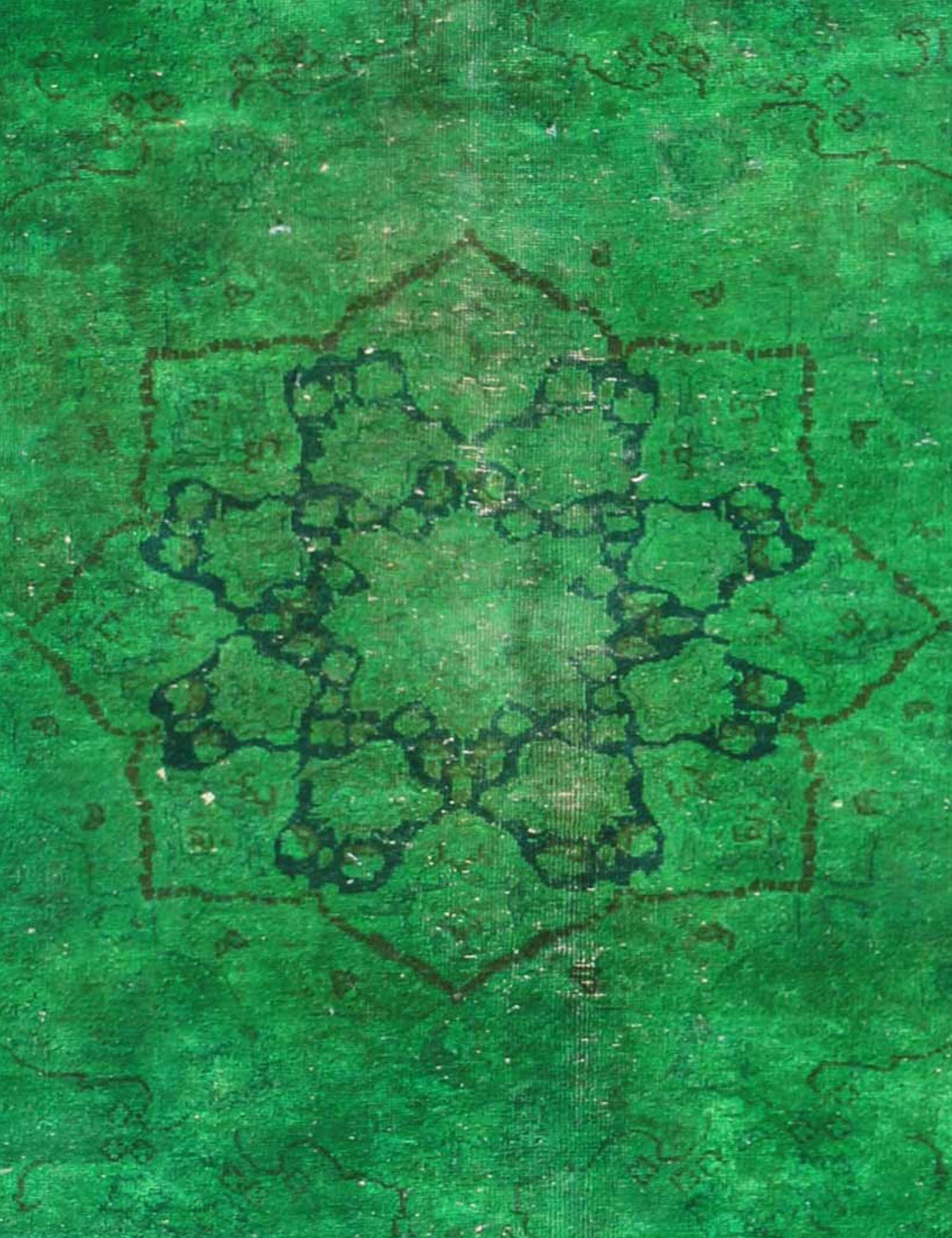 Vintage Perserteppich  grün <br/>290 x 185 cm