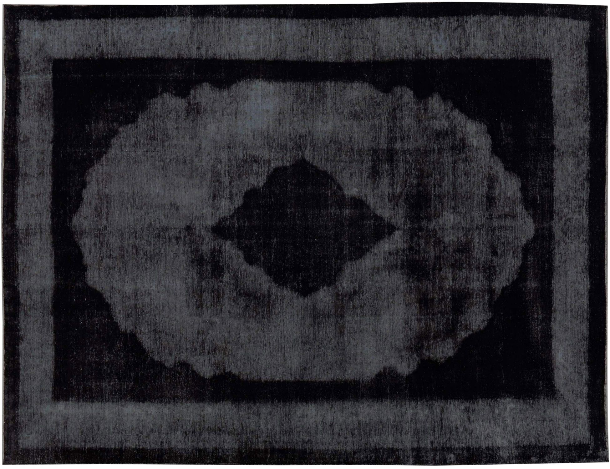 Vintage Perserteppich  schwarz <br/>395 x 280 cm