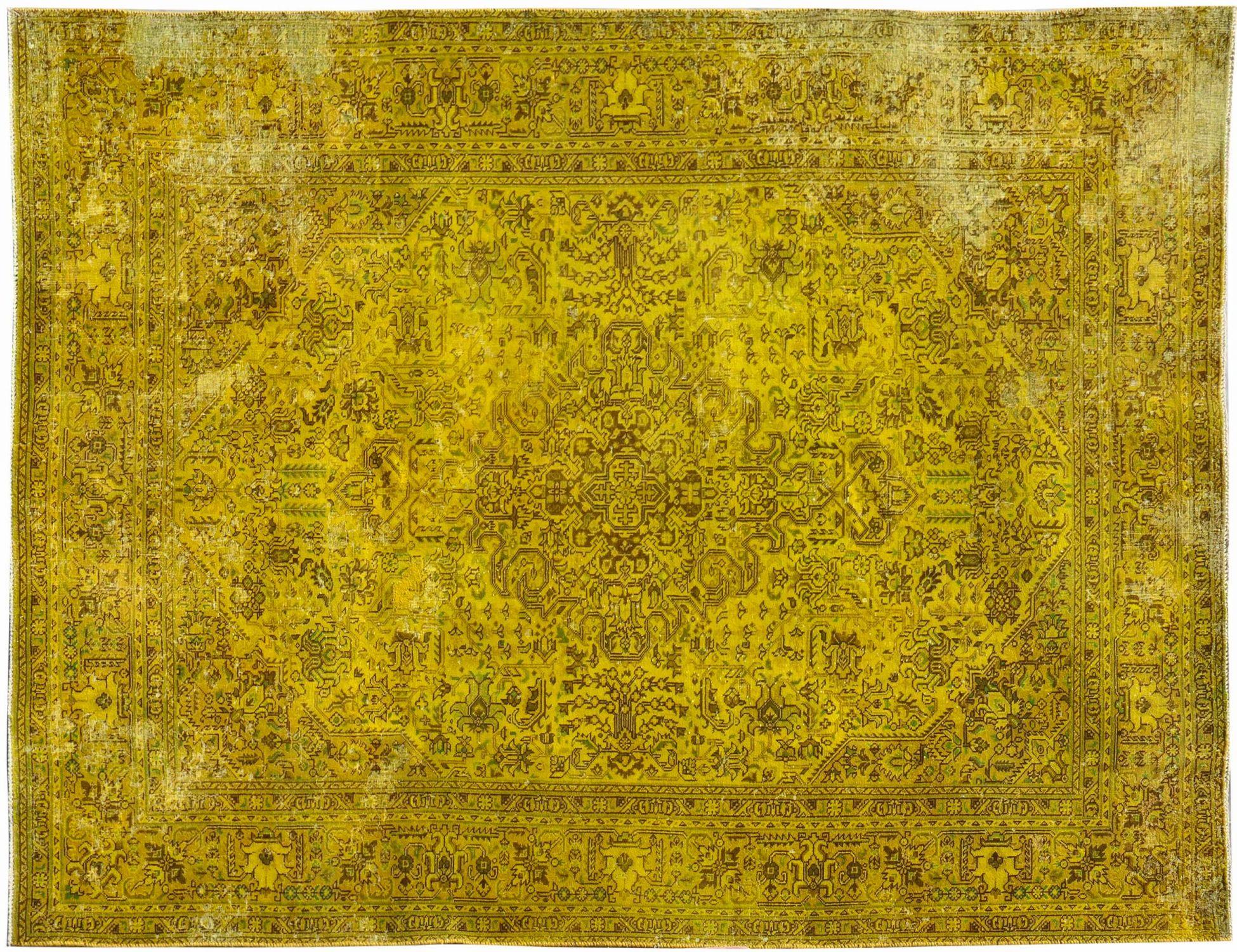 Tappeto Vintage  giallo <br/>285 x 188 cm
