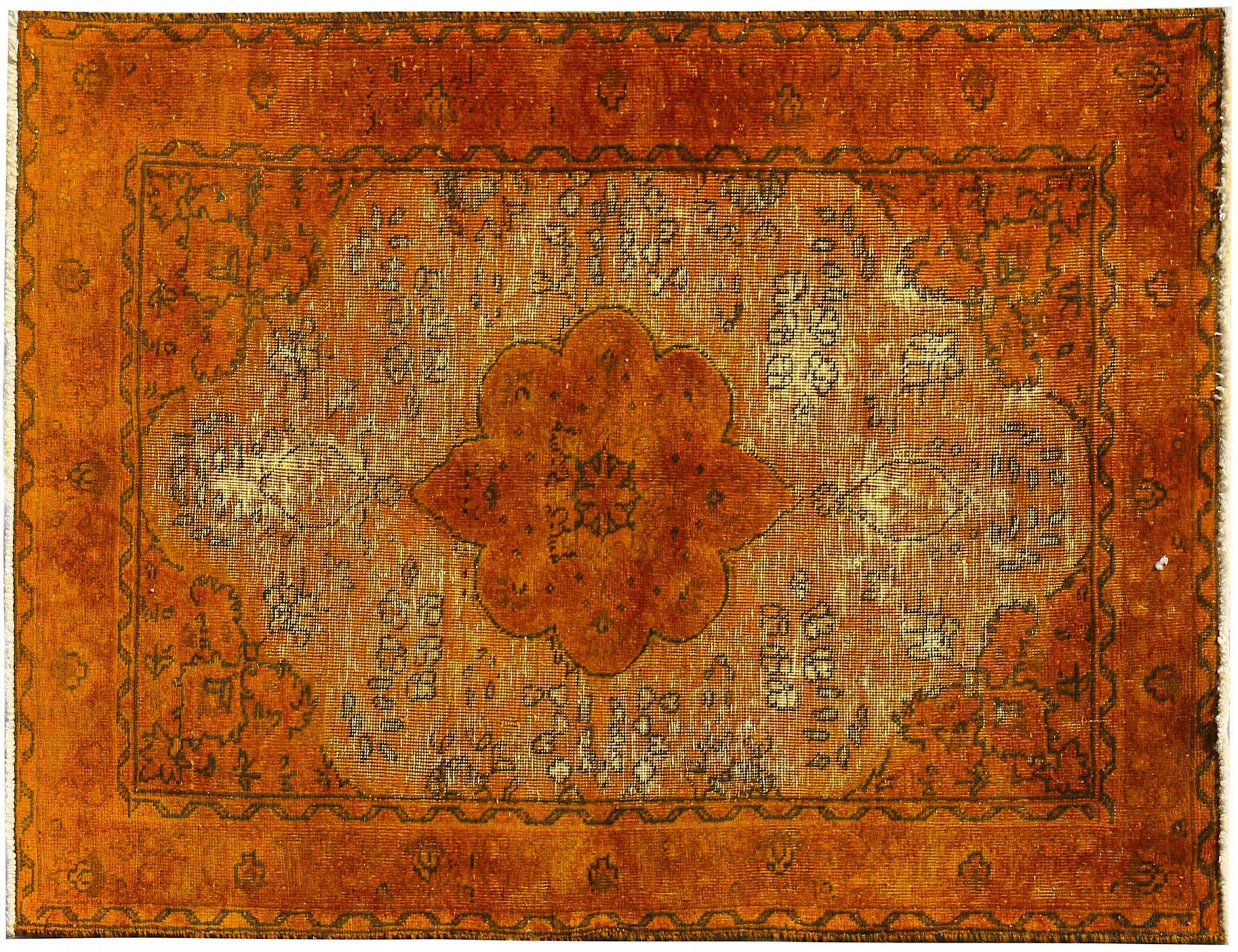 Tappeto Vintage  arancia <br/>153 x 100 cm