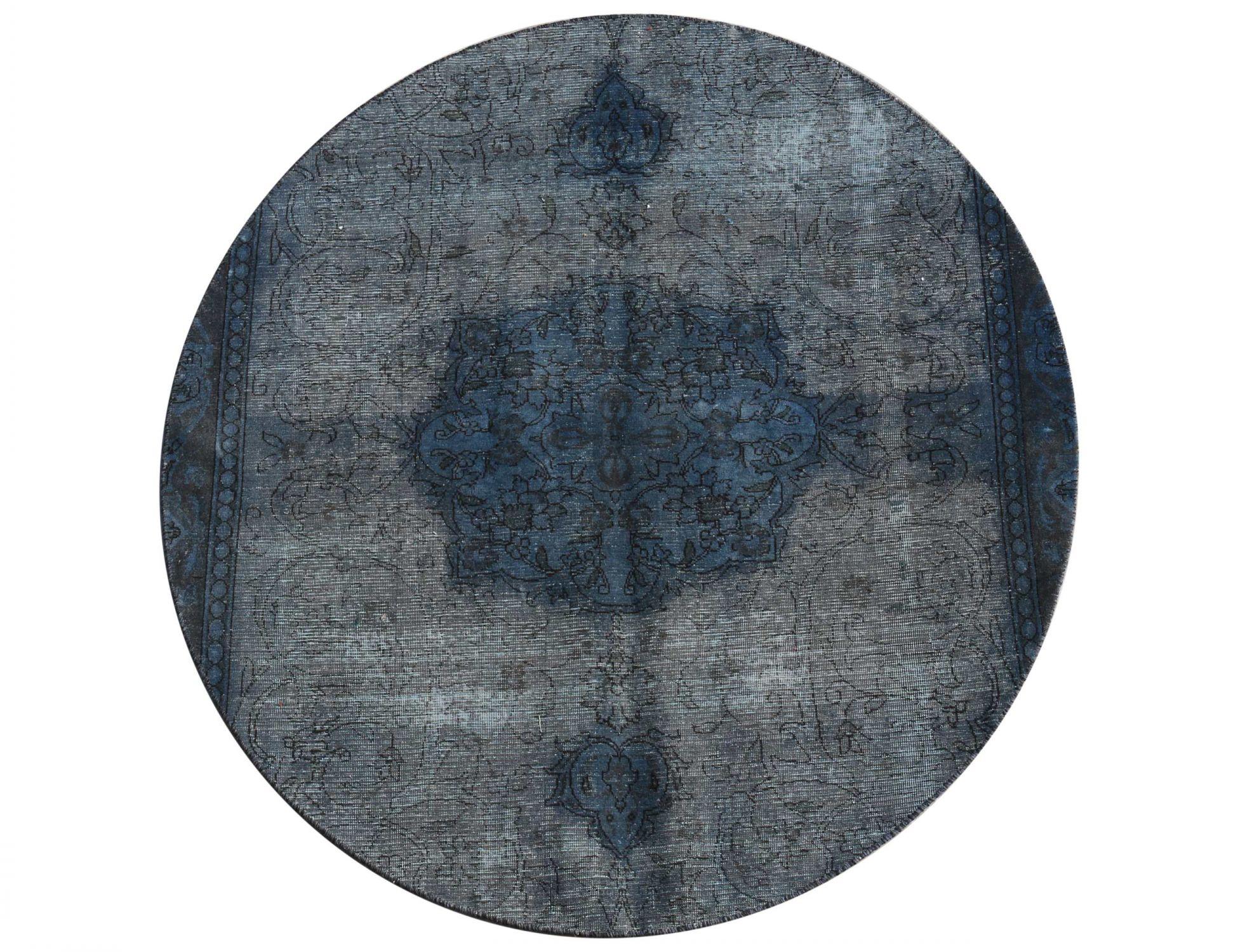Tappeto Vintage  blu <br/>202 x 202 cm