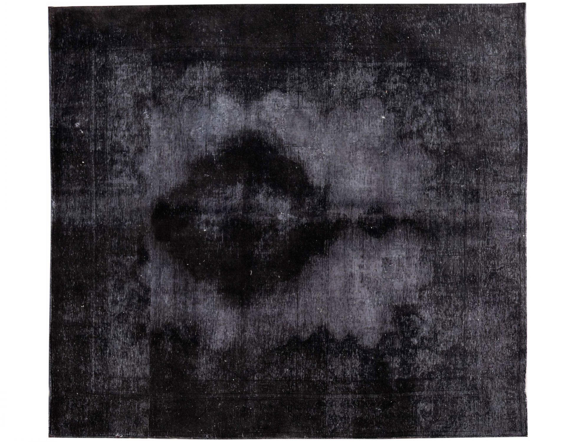 Vintage Perserteppich  schwarz <br/>280 x 235 cm