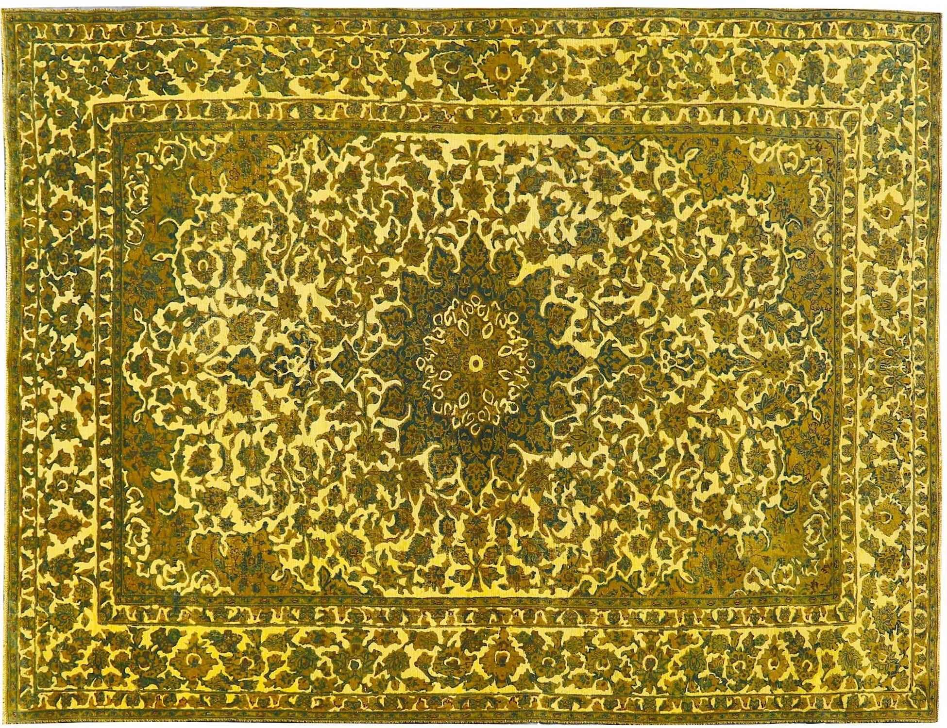 Vintage Perserteppich  gelb <br/>440 x 290 cm