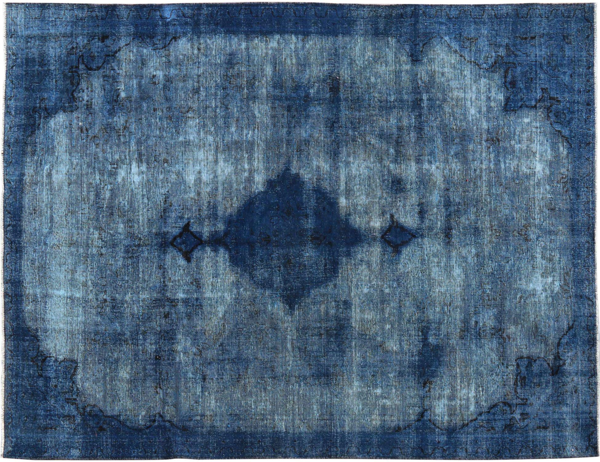 Tappeto Vintage  blu <br/>326 x 221 cm