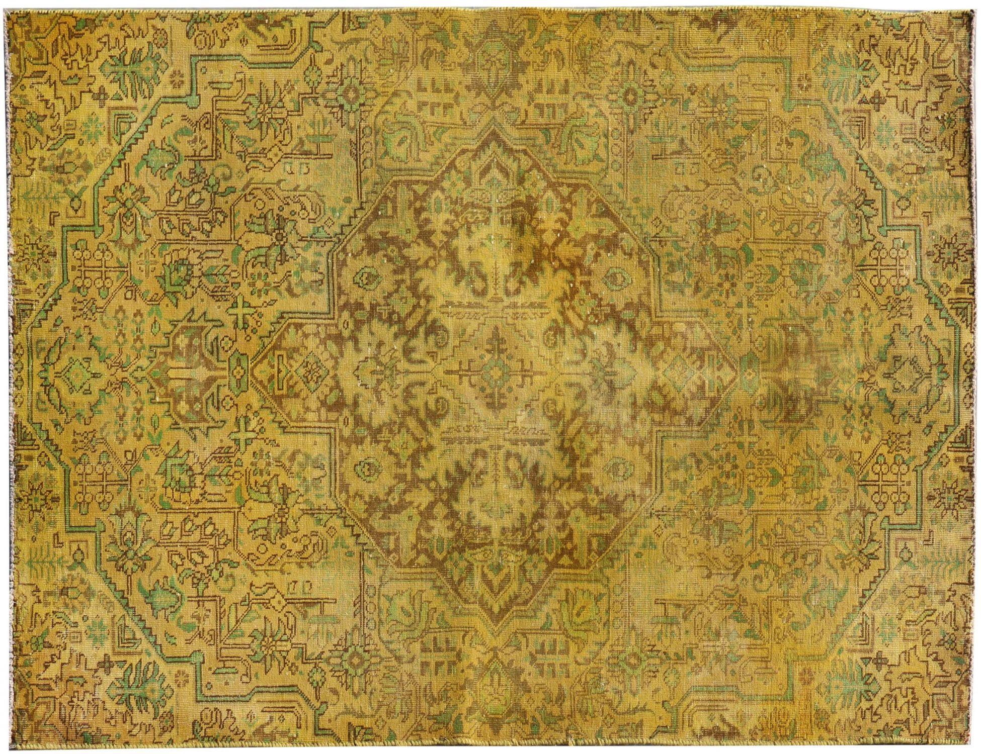 Vintage Perserteppich  gelb <br/>230 x 140 cm