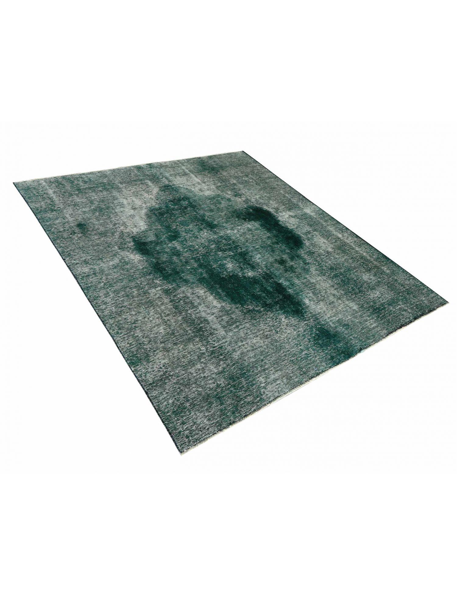 Vintage Perserteppich  grün <br/>204 x 187 cm