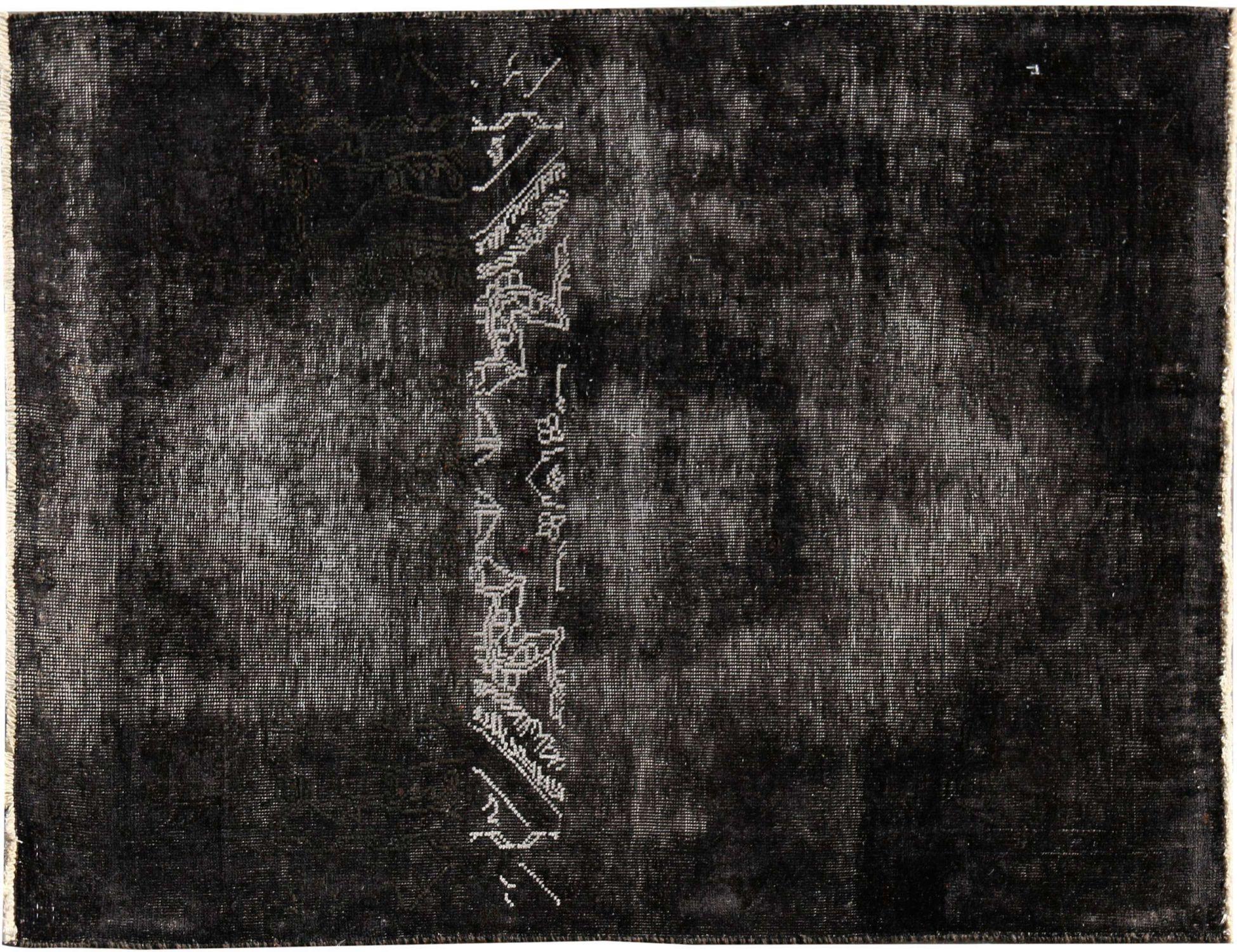 Vintage Perserteppich  schwarz <br/>149 x 94 cm