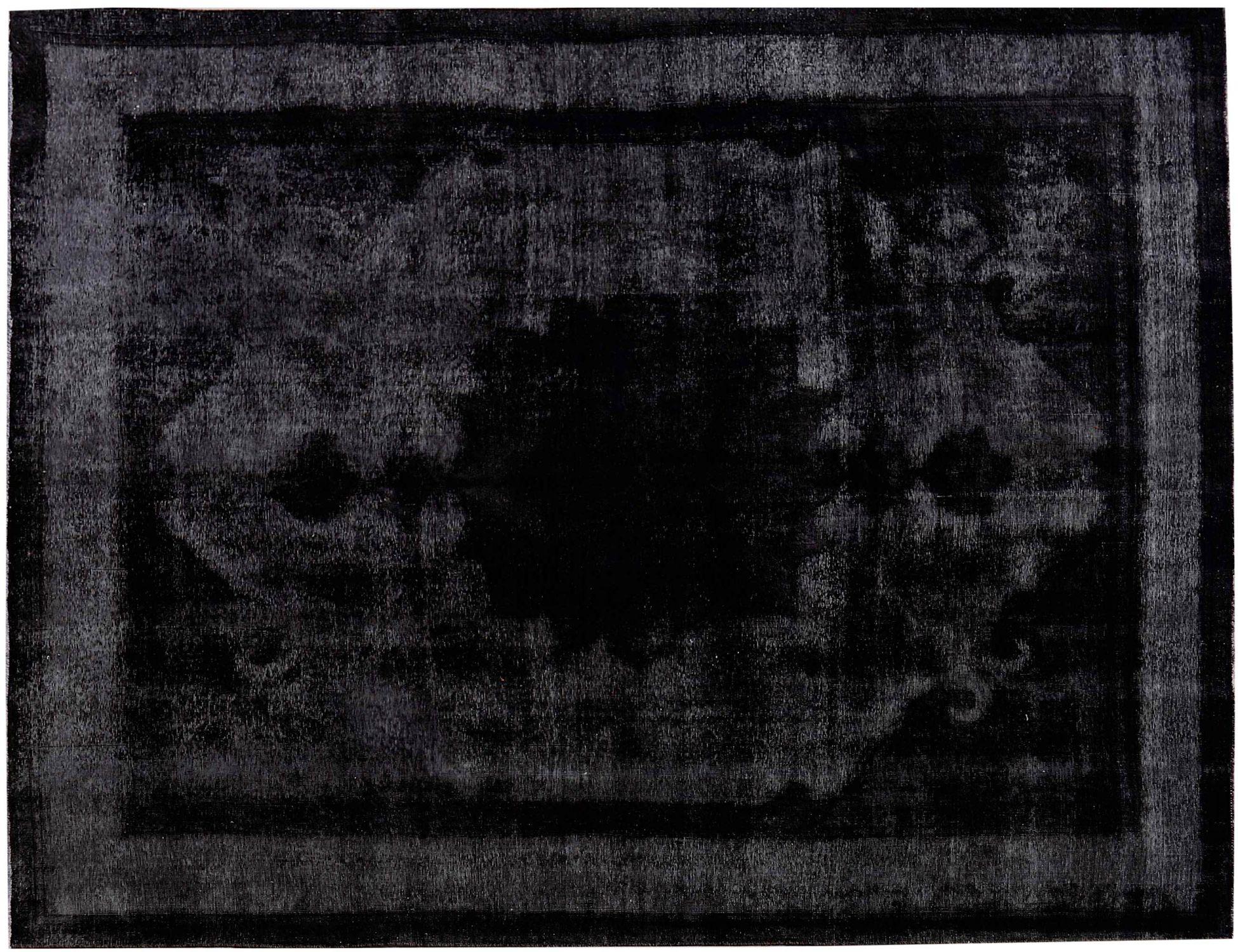 Vintage Perserteppich  schwarz <br/>382 x 308 cm