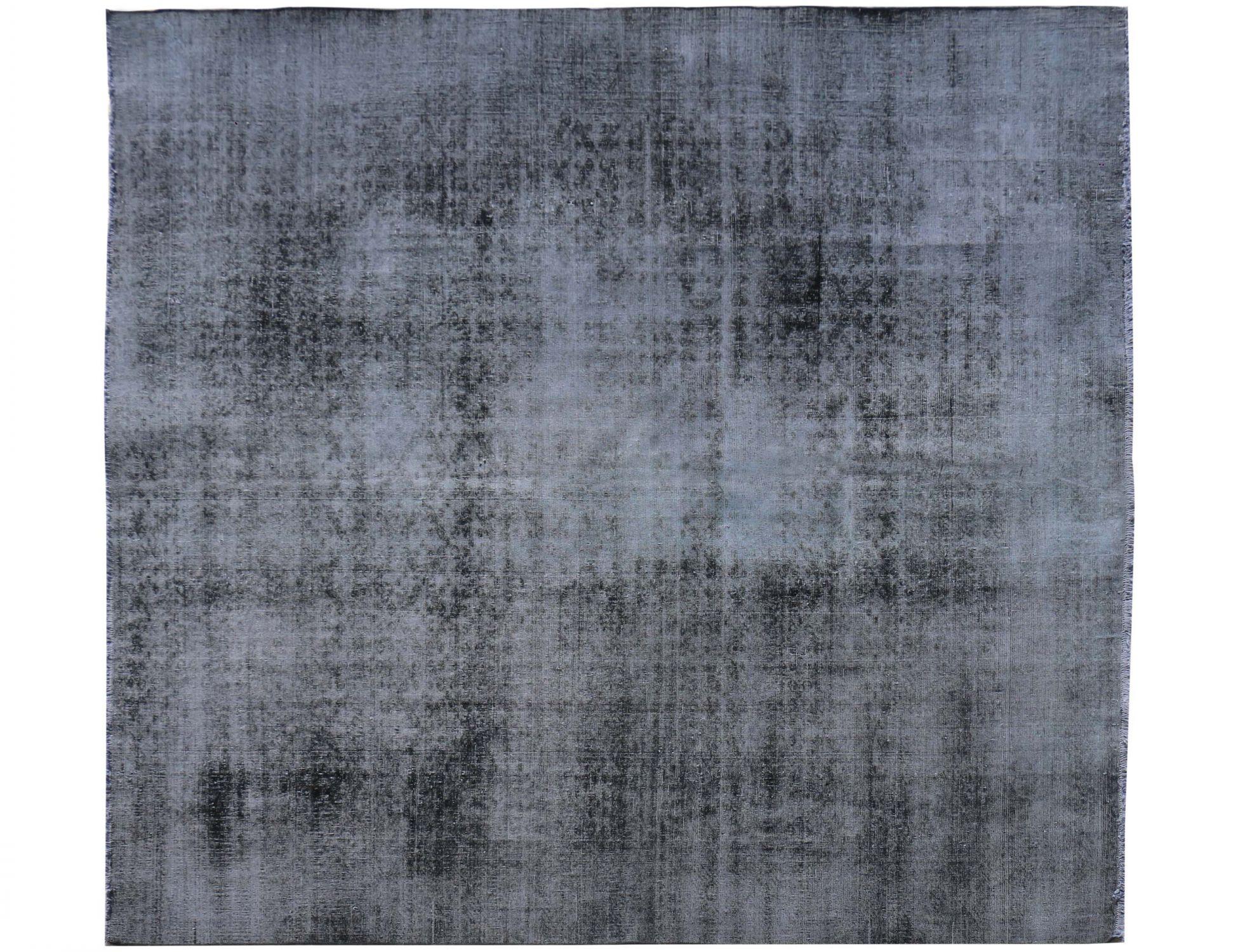 Vintage Perserteppich  schwarz <br/>302 x 301 cm