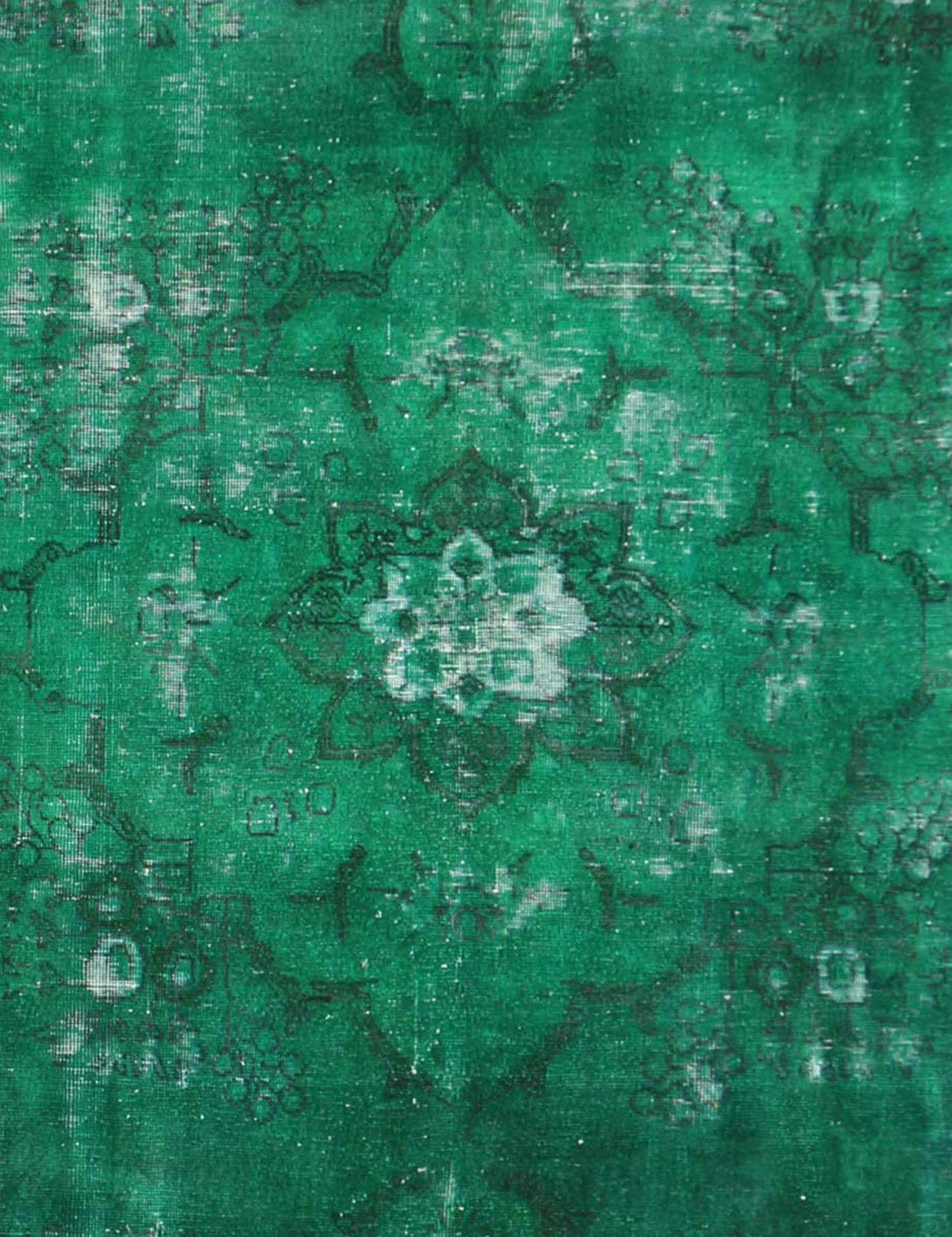 Vintage Perserteppich  grün <br/>349 x 270 cm