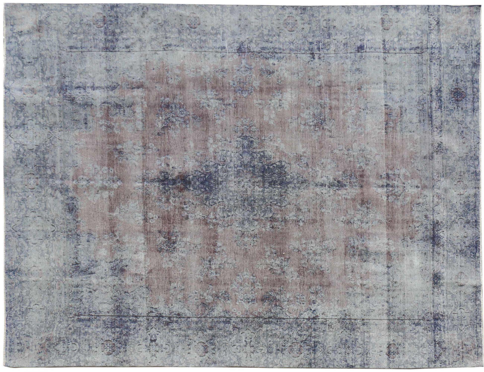 Tappeto Vintage  blu <br/>382 x 276 cm