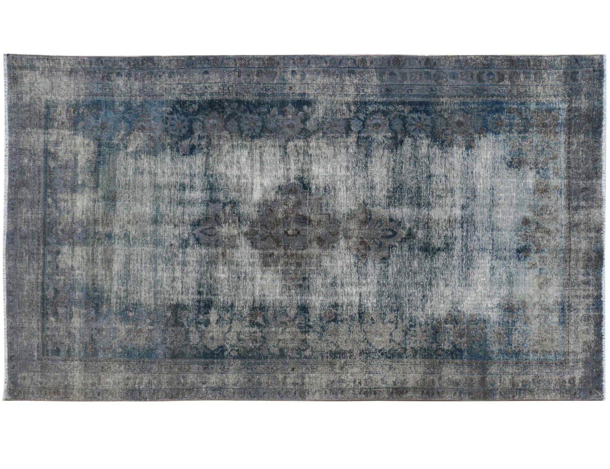 Tappeto Vintage  blu <br/>313 x 160 cm