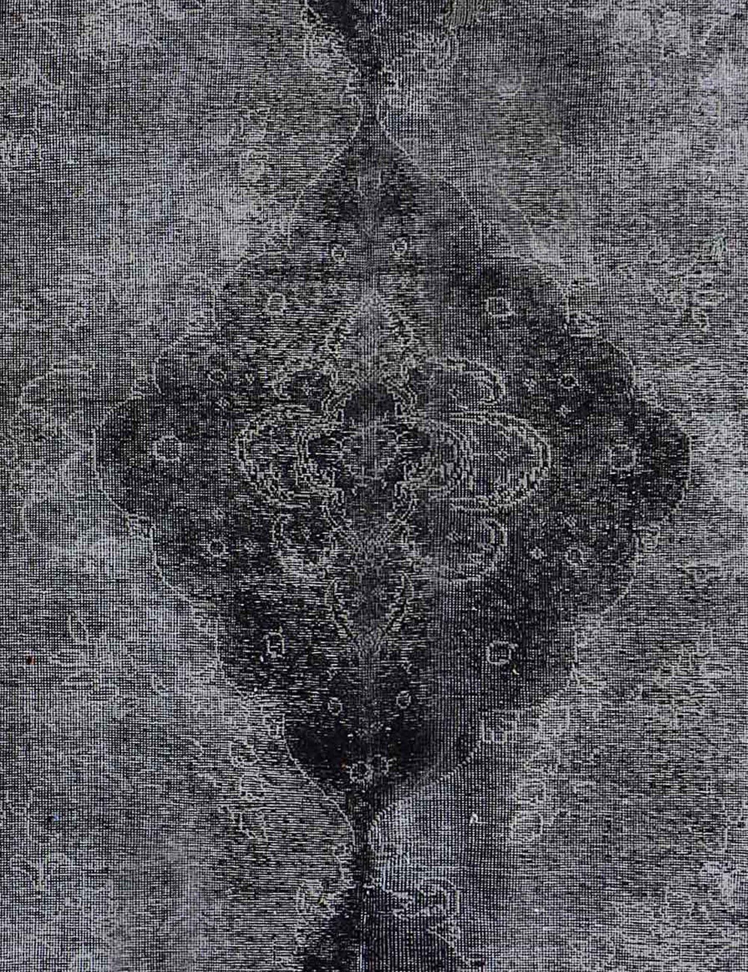 Tappeto Vintage  nero <br/>303 x 203 cm